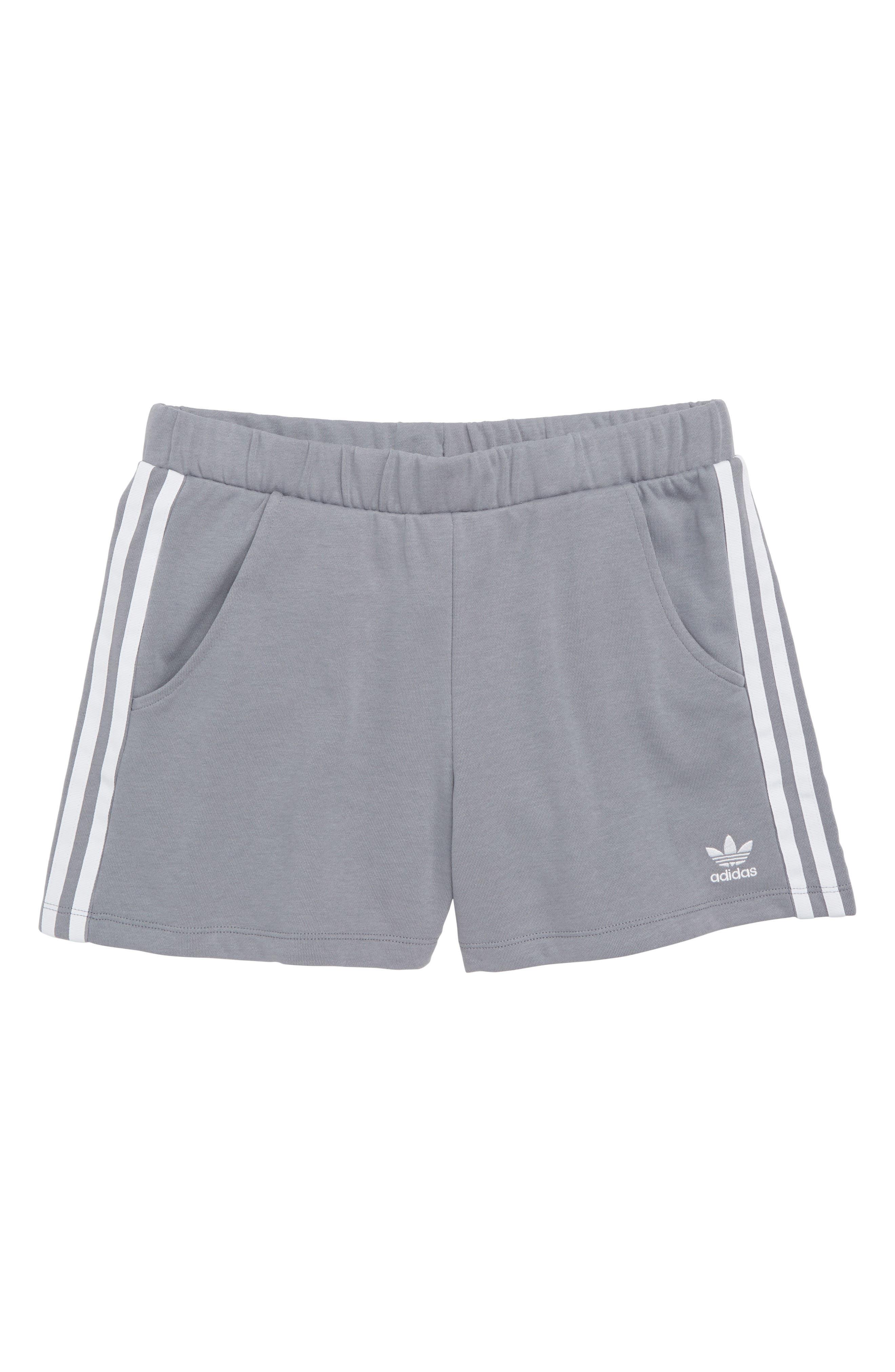Logo Shorts,                             Main thumbnail 1, color,                             Grey