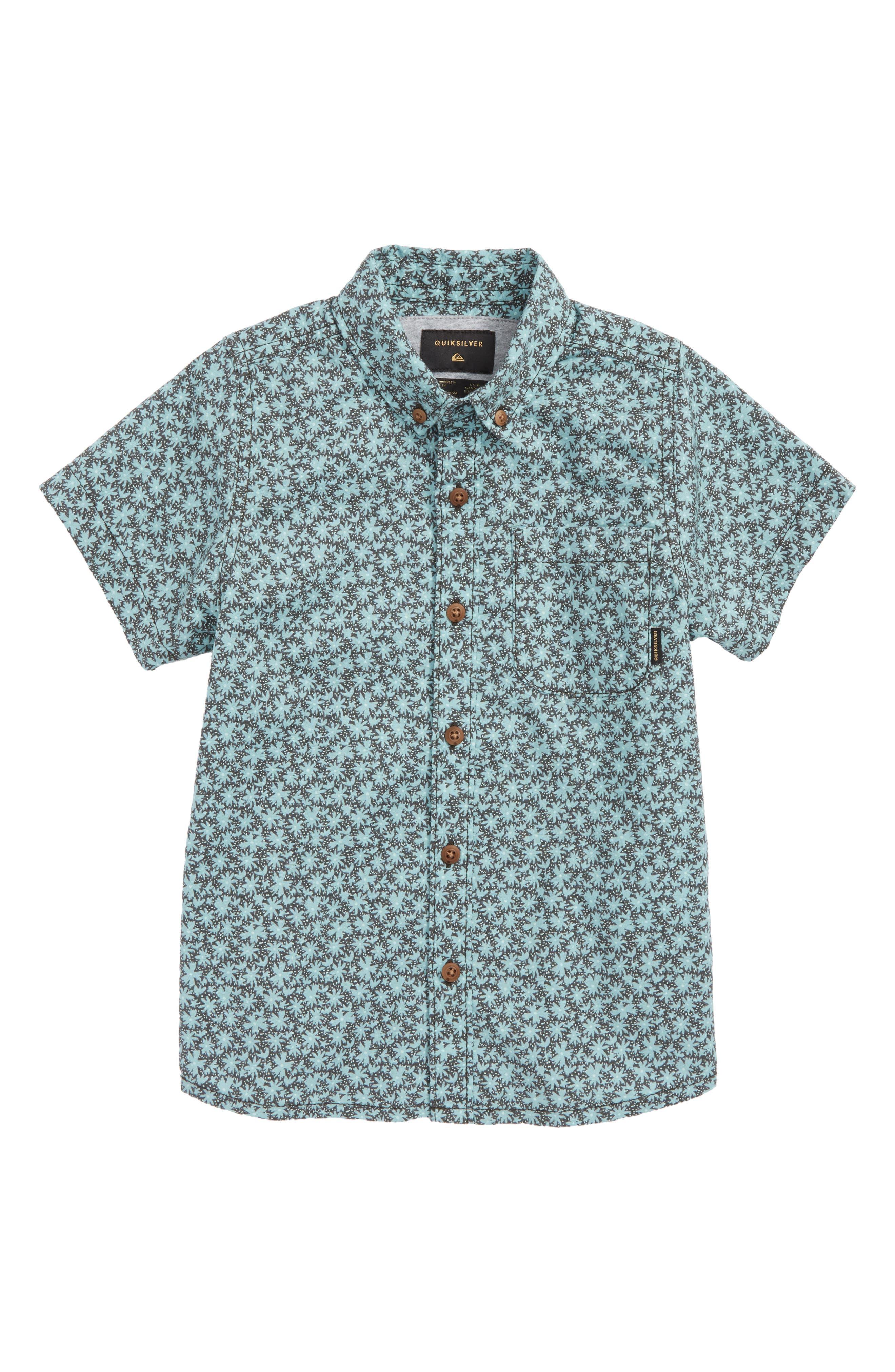 Minikani Woven Shirt,                             Main thumbnail 1, color,                             Tarmac