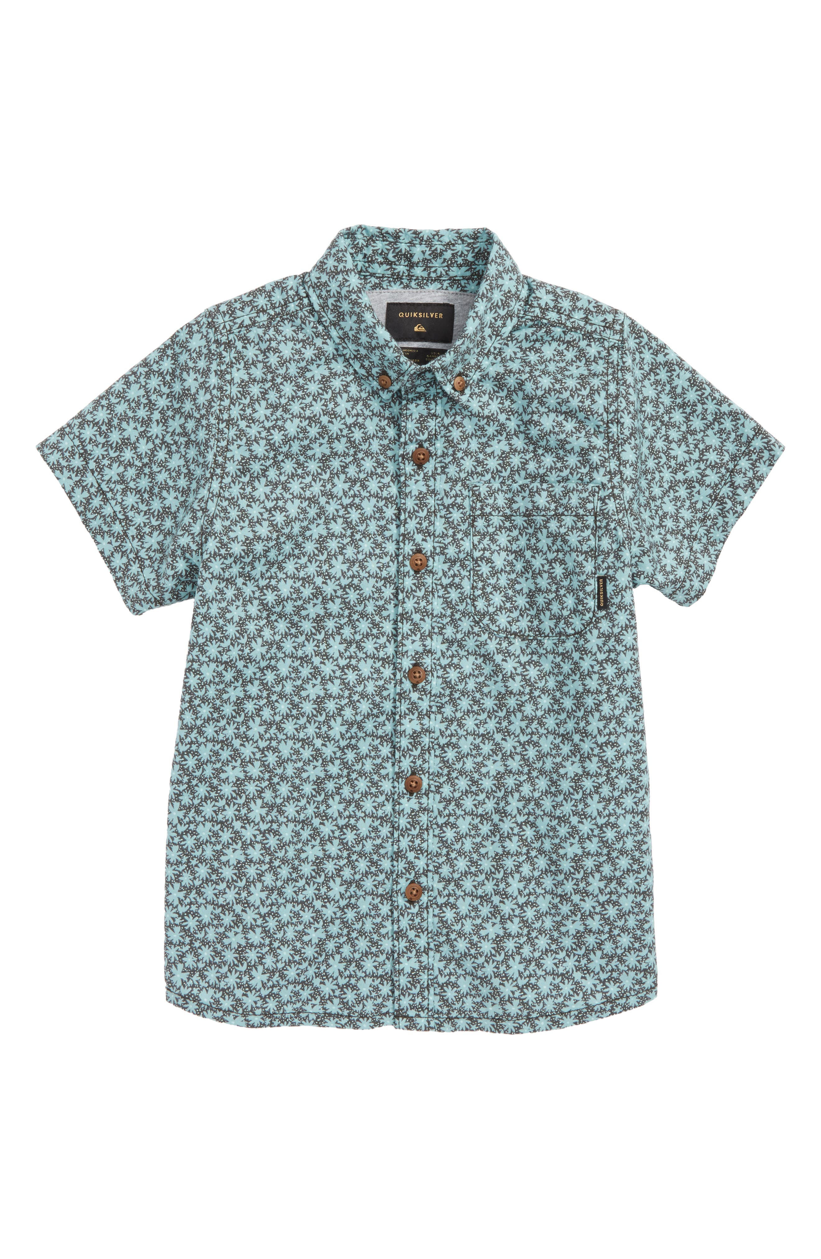 Minikani Woven Shirt,                         Main,                         color, Tarmac