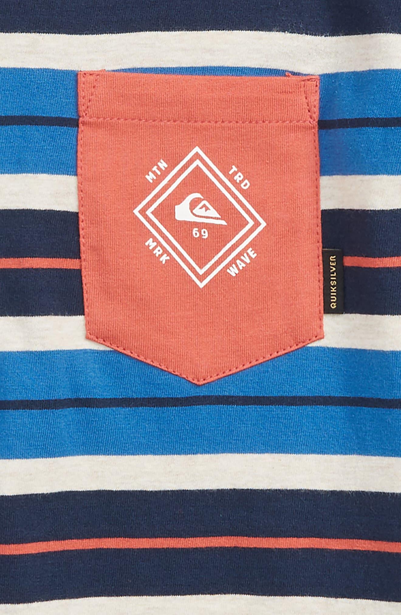 Oloa Stripe Shirt,                             Alternate thumbnail 2, color,                             Bright Cobalt
