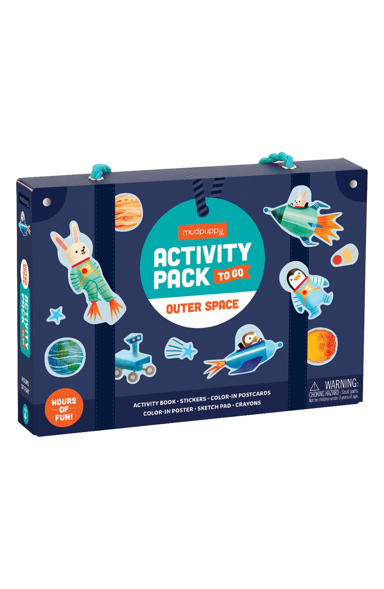 Outer Space Activity Pack to Go Activity Set,                             Main thumbnail 1, color,                             Blue