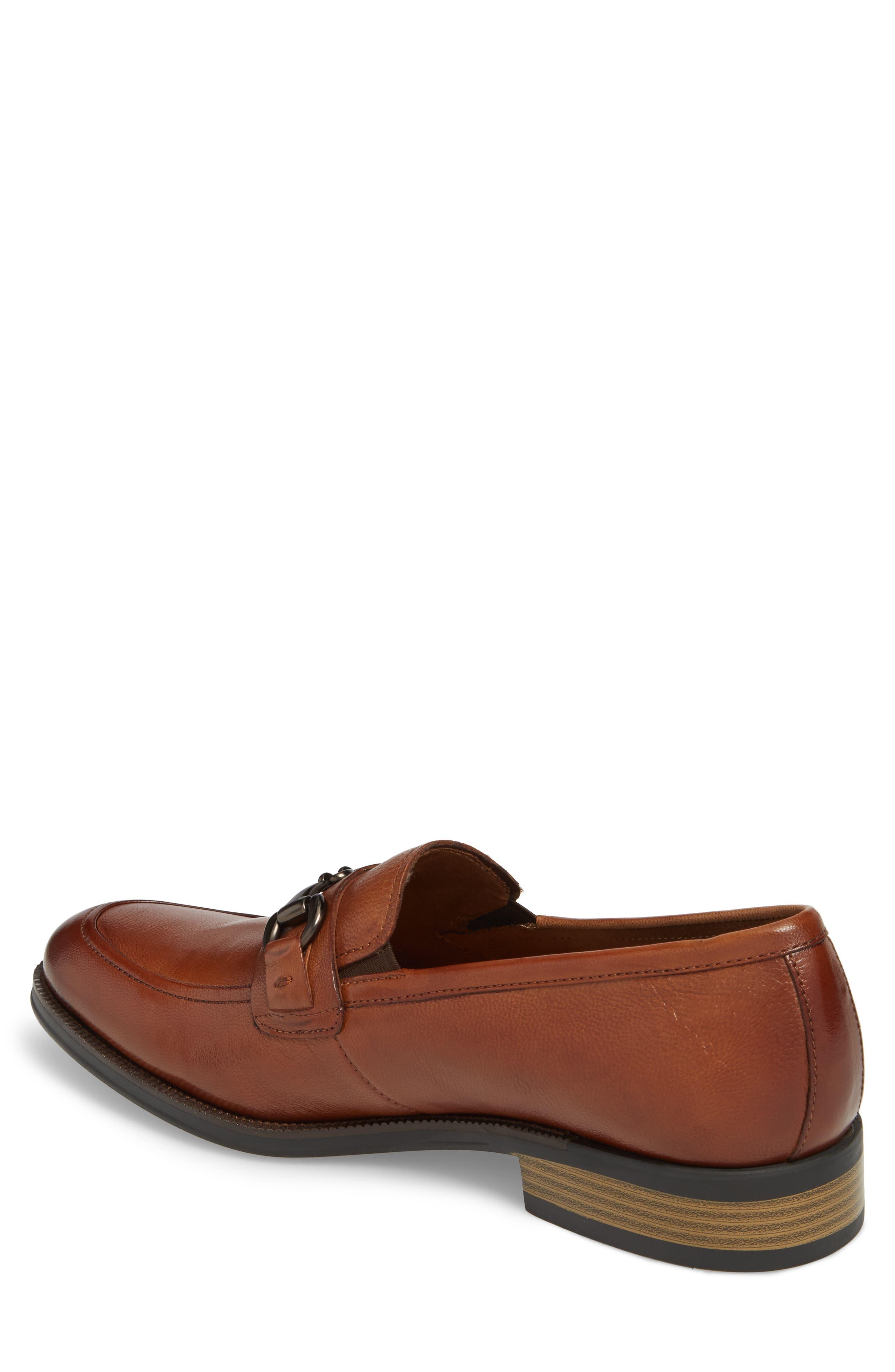 Brock Bit Loafer,                             Alternate thumbnail 2, color,                             Cognac Leather