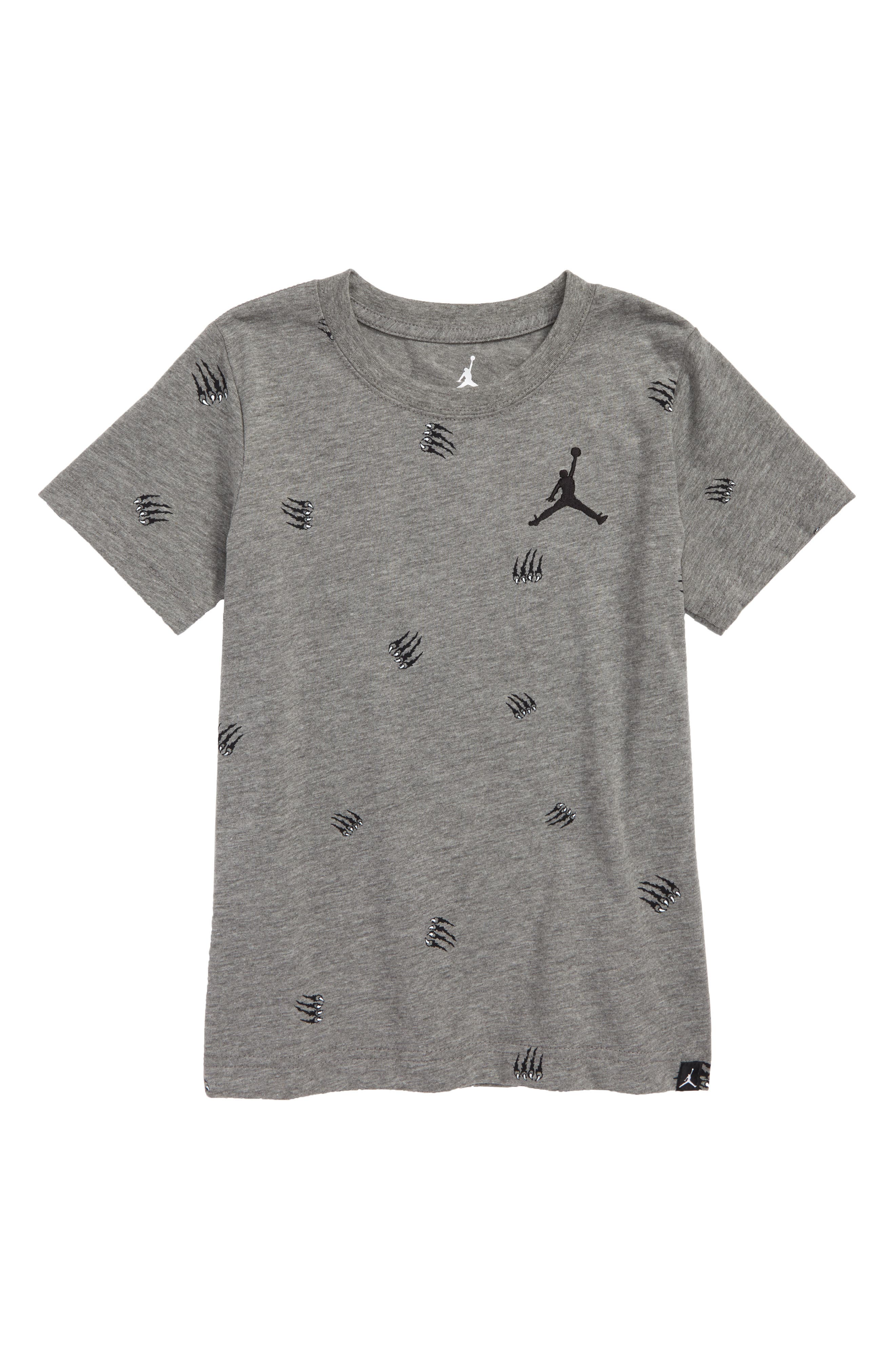 Jordan JSW Energy 1 T-Shirt,                             Main thumbnail 1, color,                             Carbon Heather