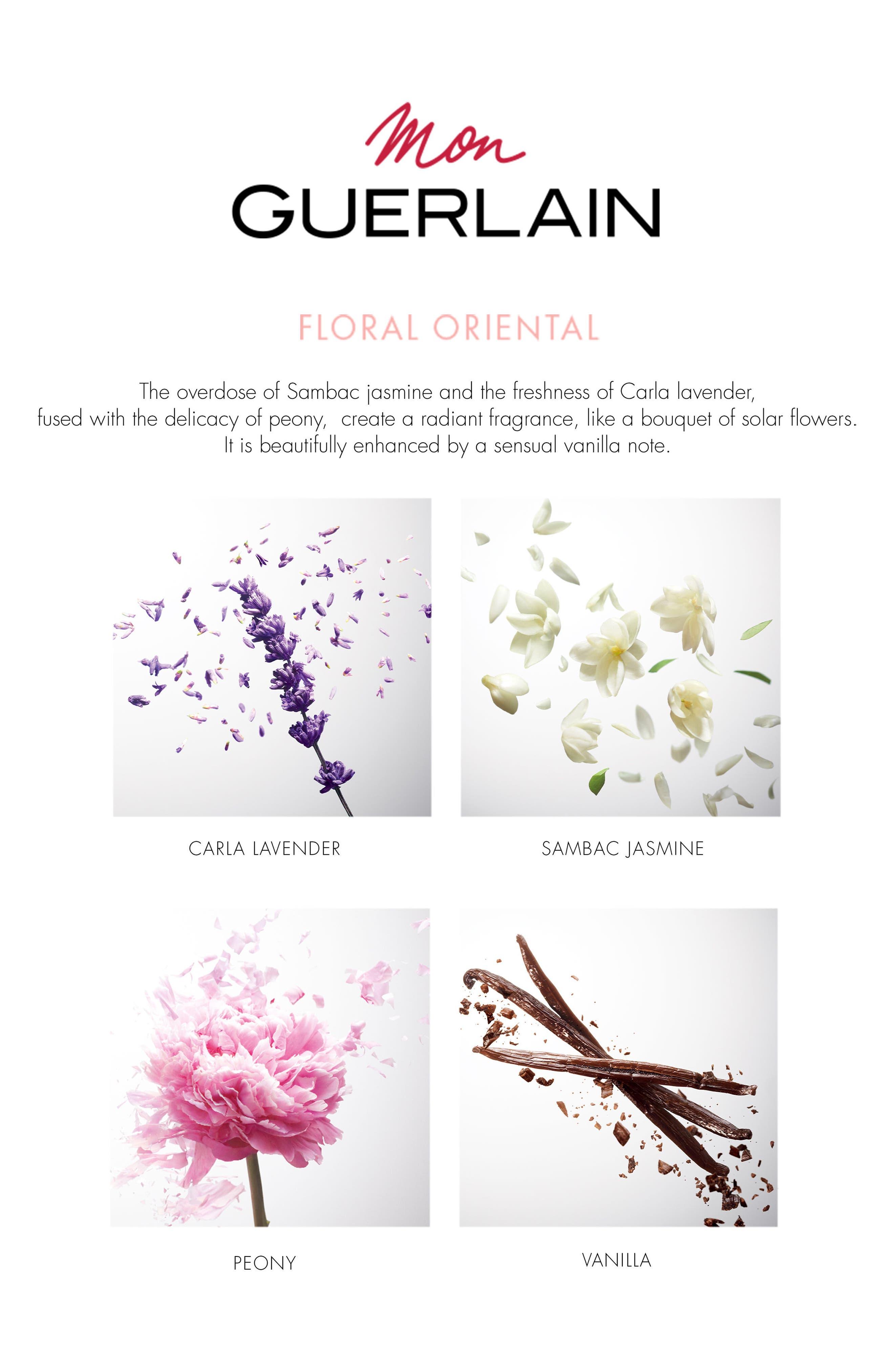 Mon Guerlain Eau de Parfum Florale,                             Alternate thumbnail 2, color,                             No Color