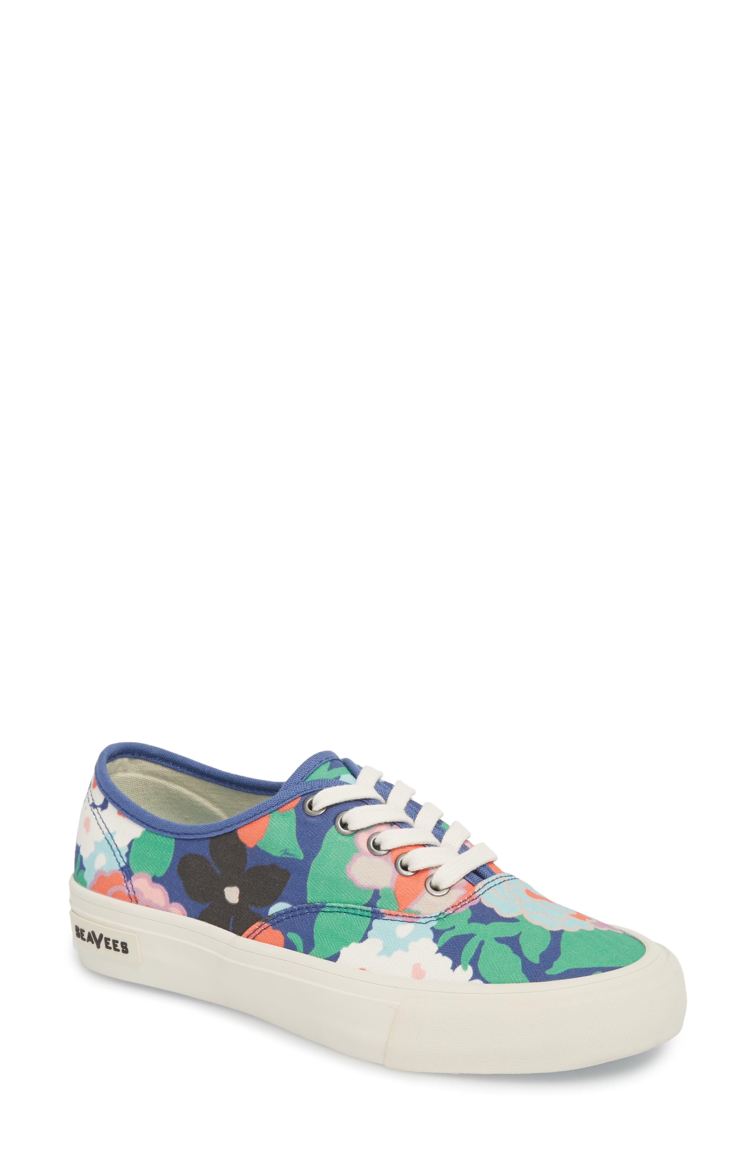x Trina Turk Legend Sneaker,                             Main thumbnail 1, color,                             Greenhouse Floral