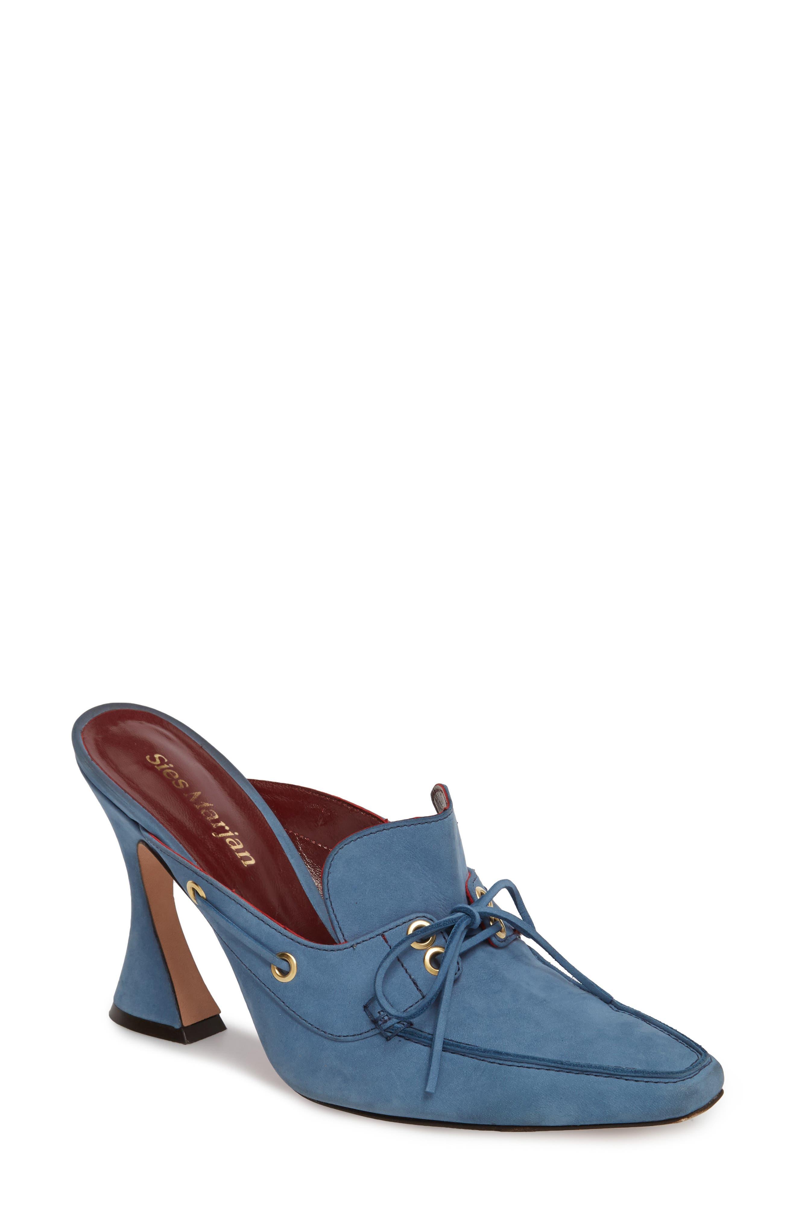 Remi Mule,                         Main,                         color, Dusty Blue