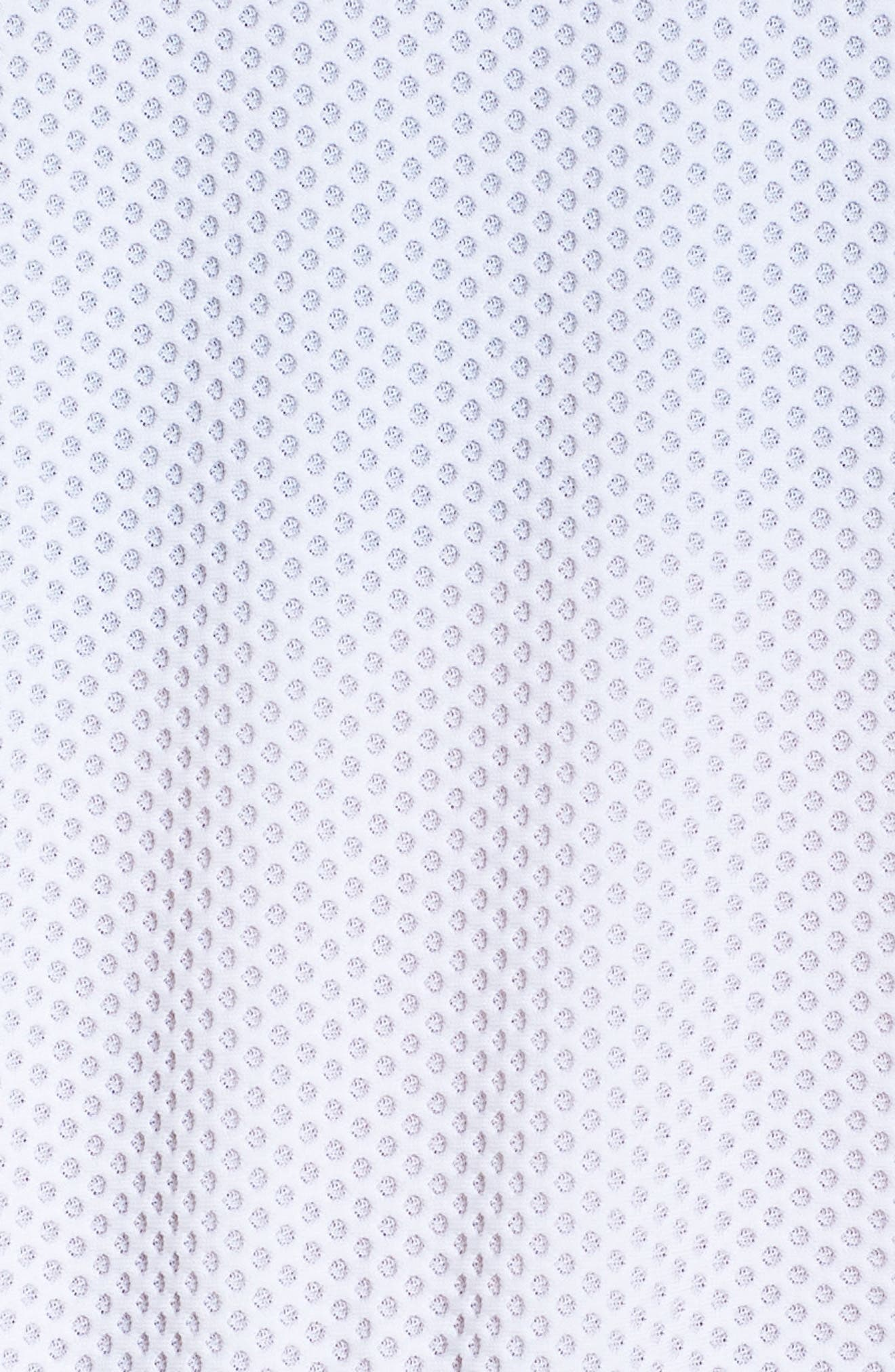 BoomBoom Athletica Bubble Mesh Hoodie,                             Alternate thumbnail 6, color,                             White