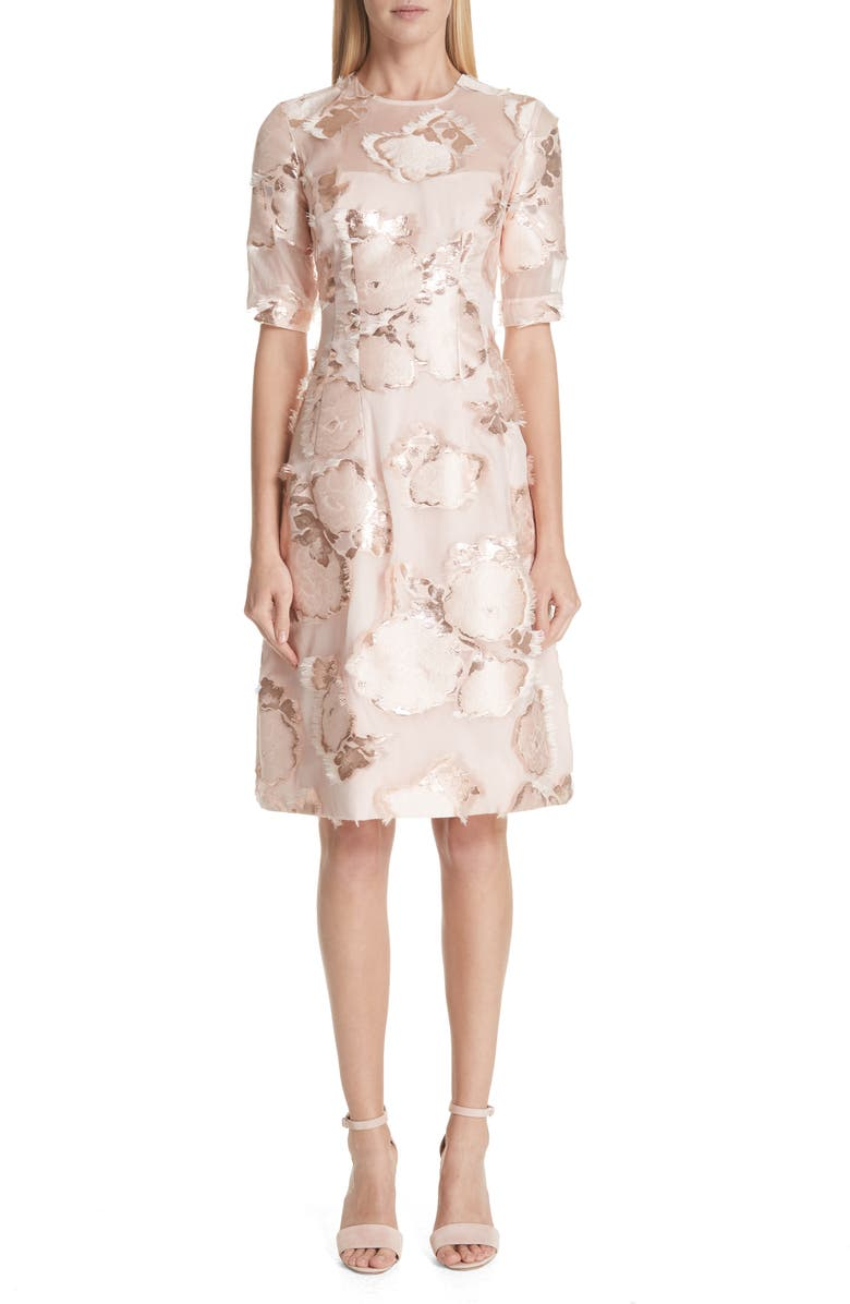 Holly Floral Fil Coup? Fit  Flare Dress