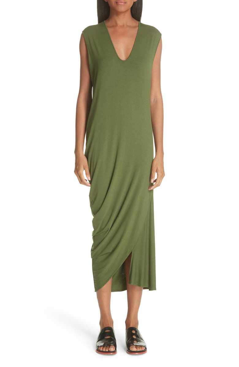 Curve Lui Draped Jersey Dress