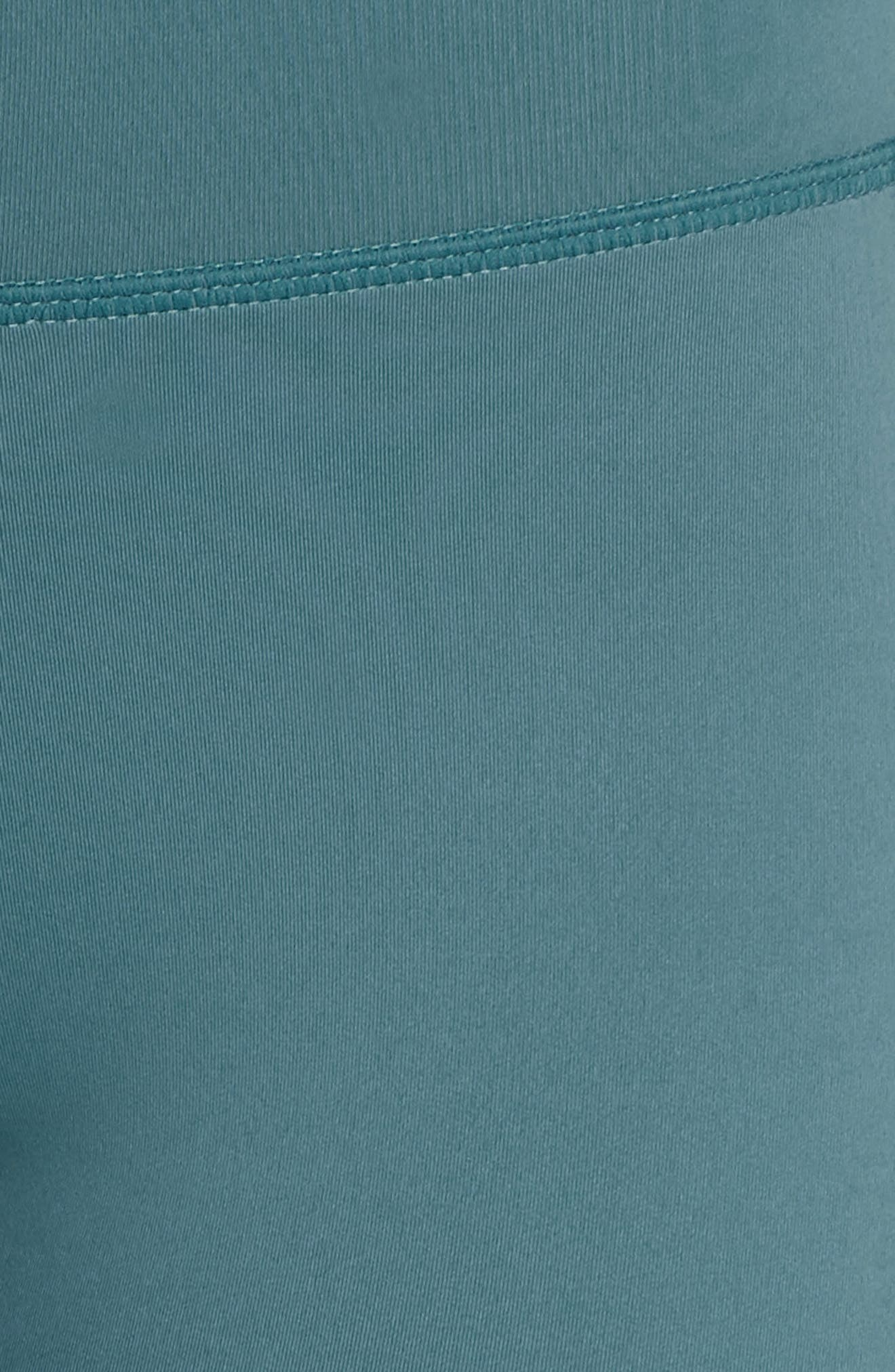 Horizon Ankle Leggings,                             Alternate thumbnail 6, color,                             Blue Surf/ Off White