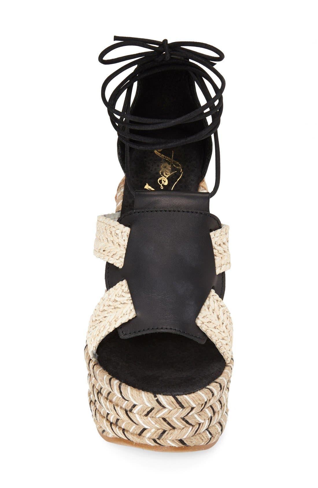 Alternate Image 3  - Free People 'High Society' Platform Sandal (Women)