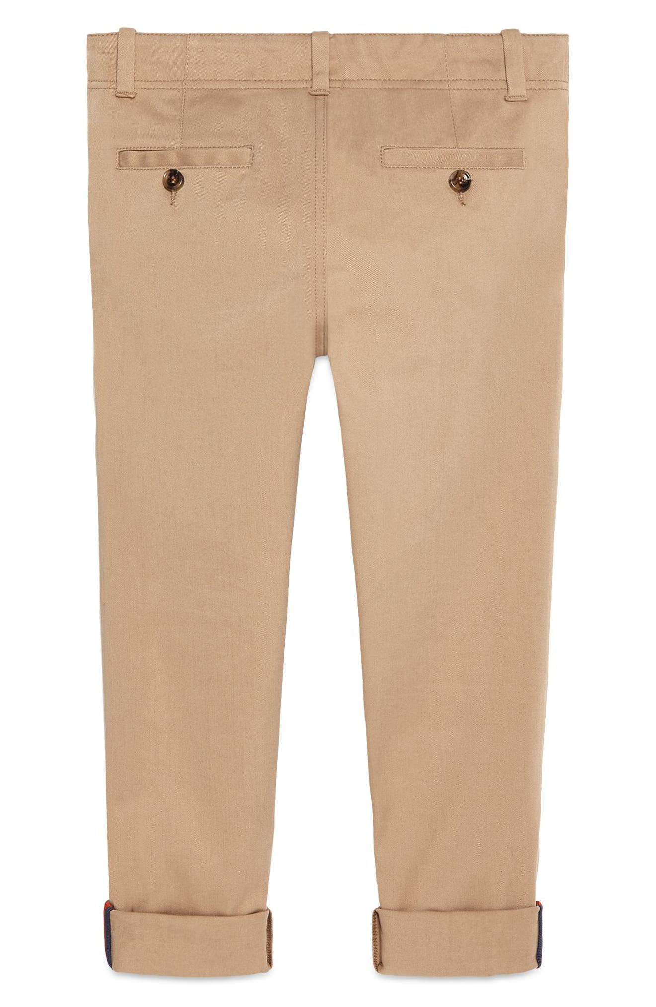 Urban Stripe Pants,                             Alternate thumbnail 2, color,                             Sugarcane/ Blue/ Red