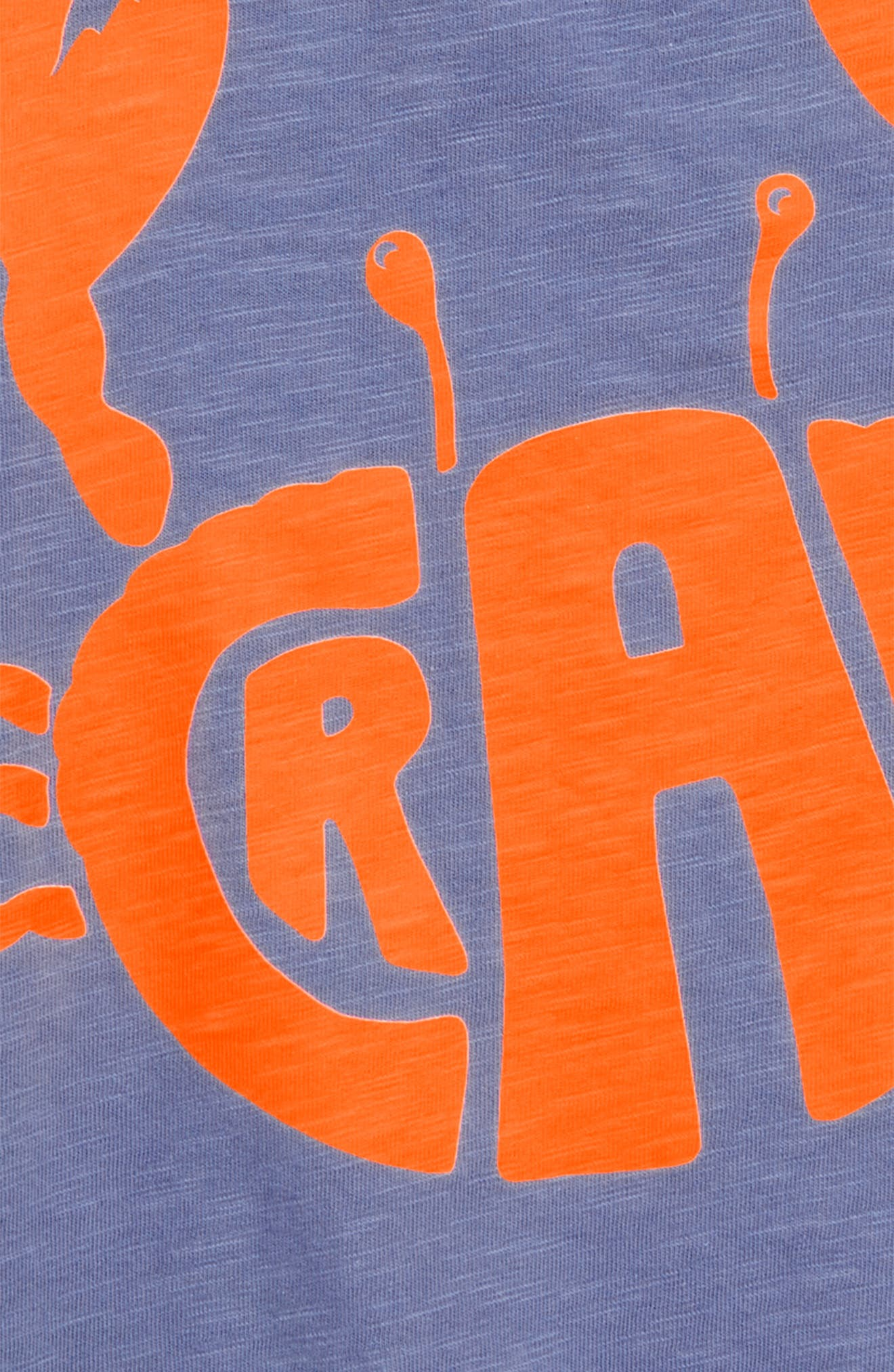 Fluoro Crab T-Shirt,                             Alternate thumbnail 2, color,                             Hook Blue Crab
