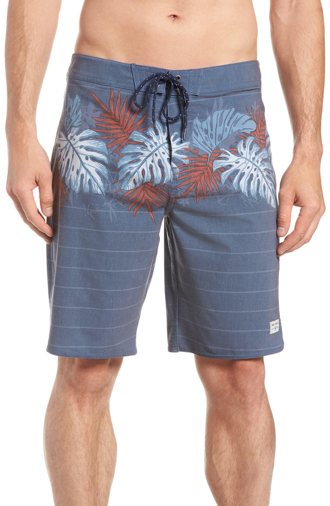 Waterfront Board Shorts,                         Main,                         color, Navy 2