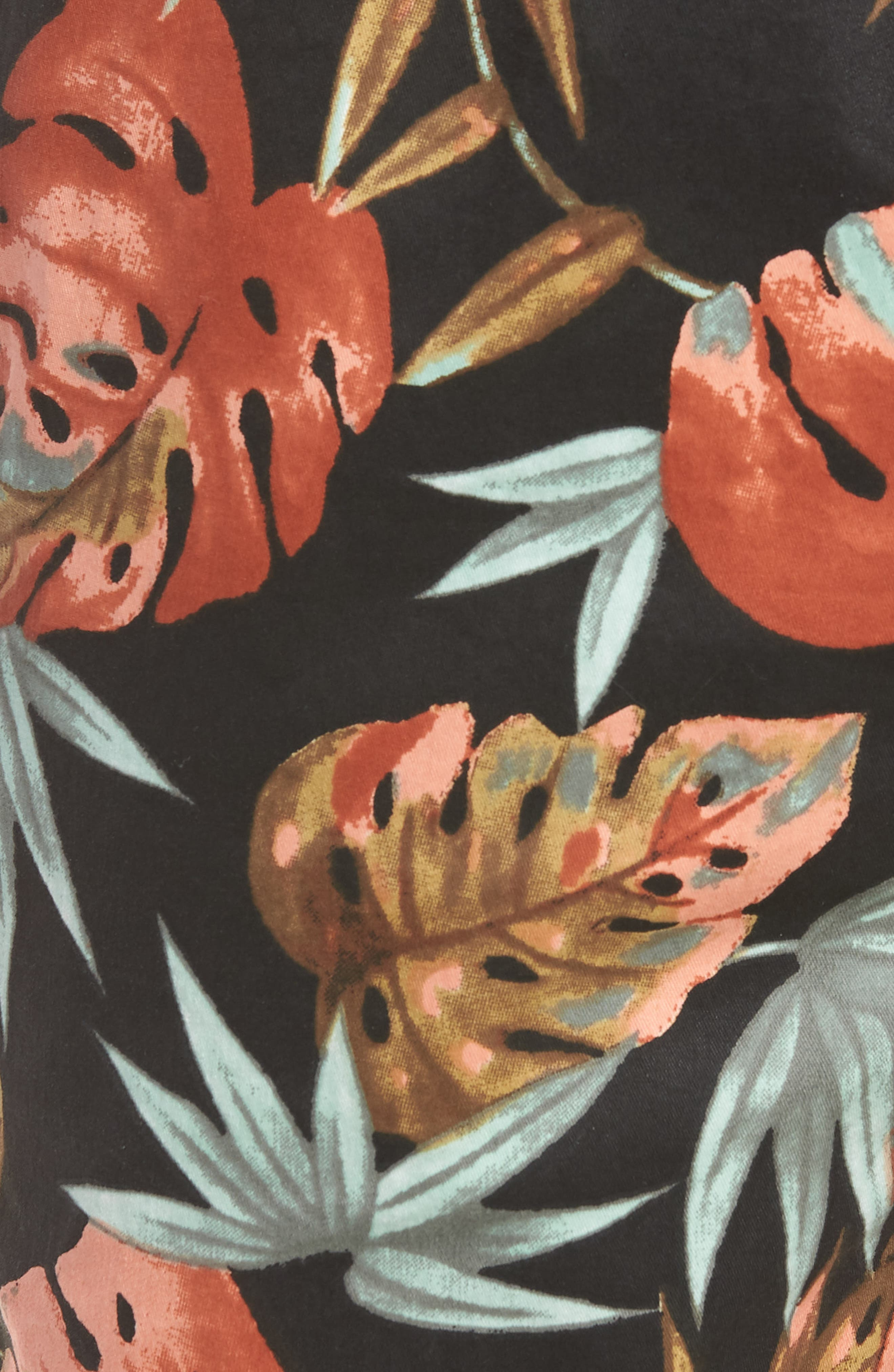Forage Laguna Swim Trunks,                             Alternate thumbnail 5, color,                             Washed Black