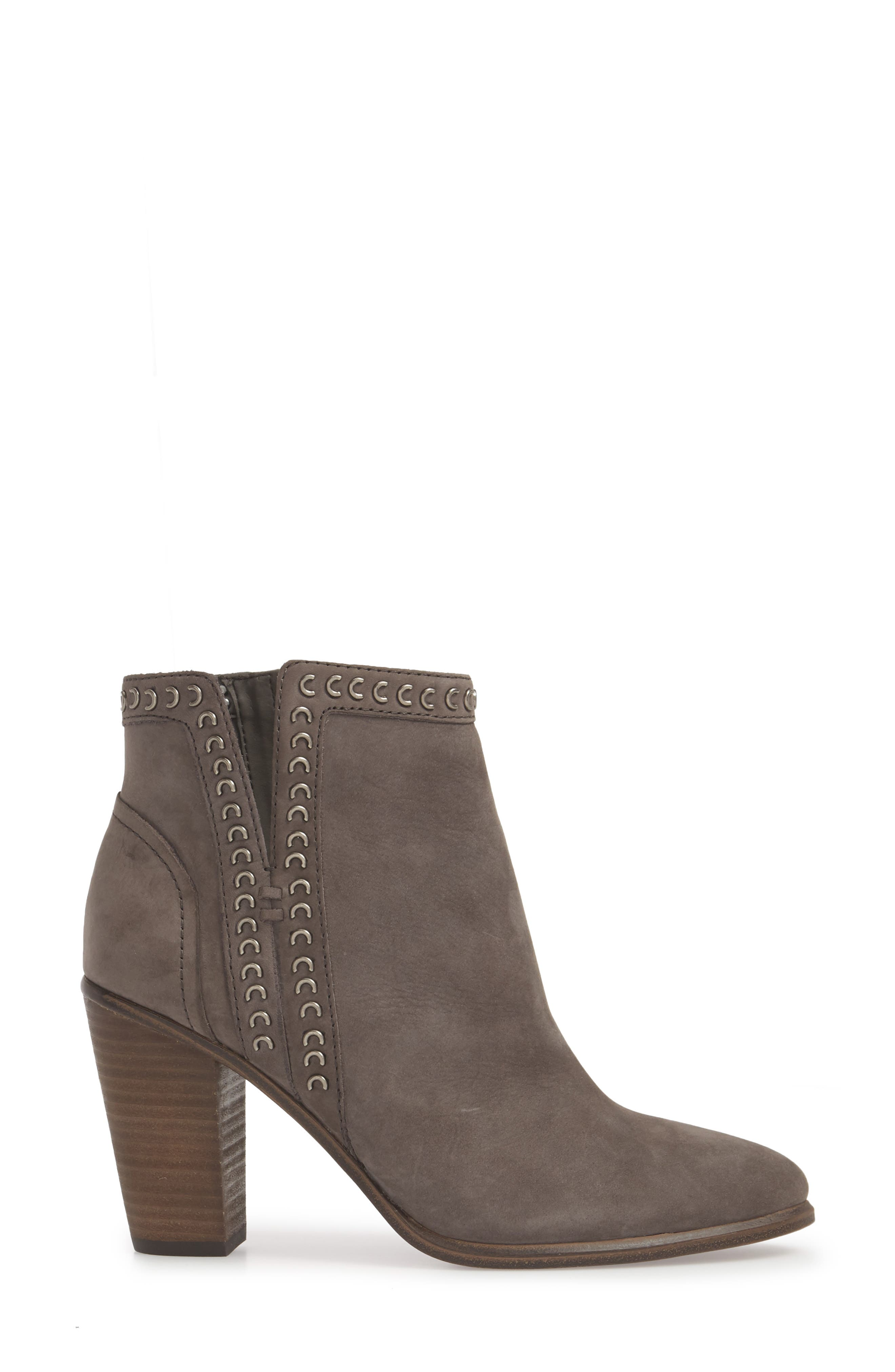 Finchie Bootie,                             Alternate thumbnail 3, color,                             Greystone Leather