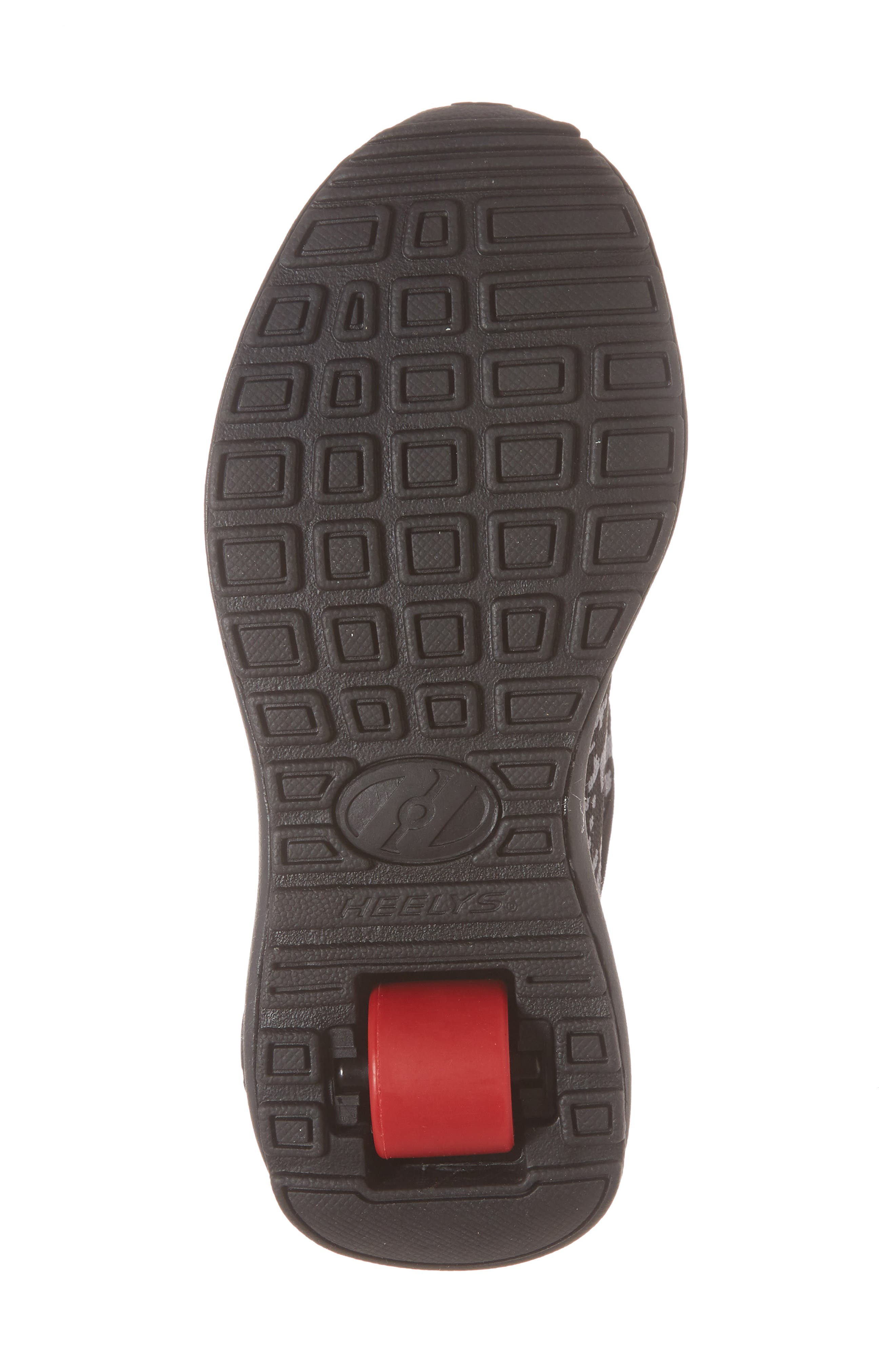 Player Sneaker,                             Alternate thumbnail 3, color,                             Black/ Red