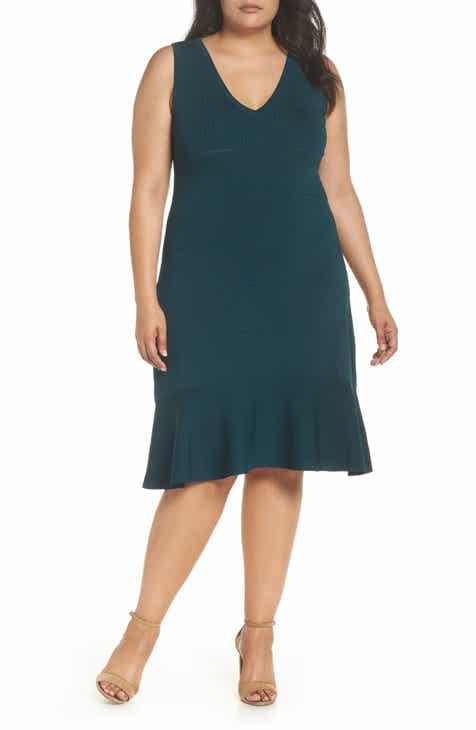 Green Plus Size Dresses Nordstrom