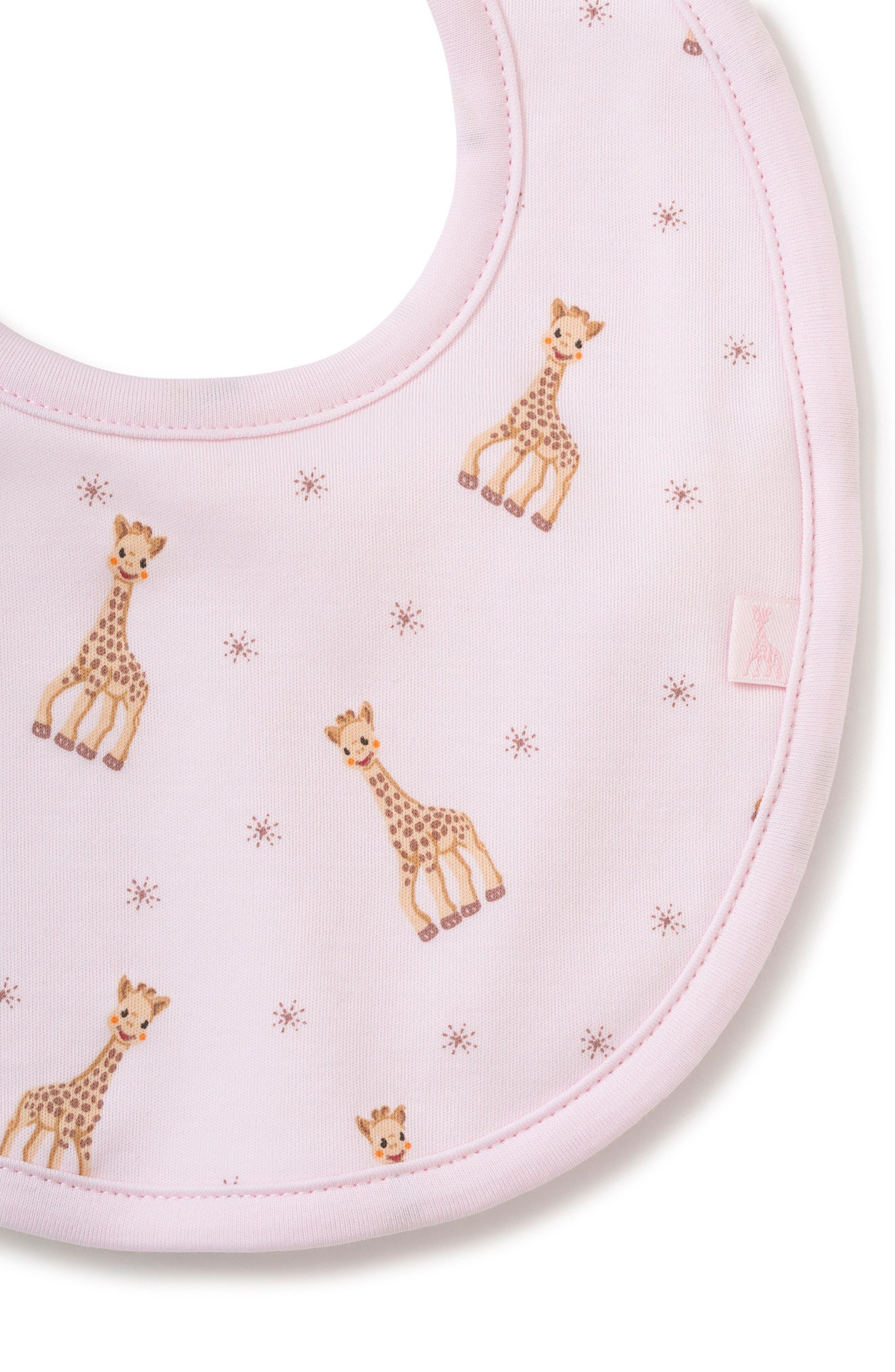 x Sophie la Girafe Bib,                             Alternate thumbnail 2, color,                             Pink