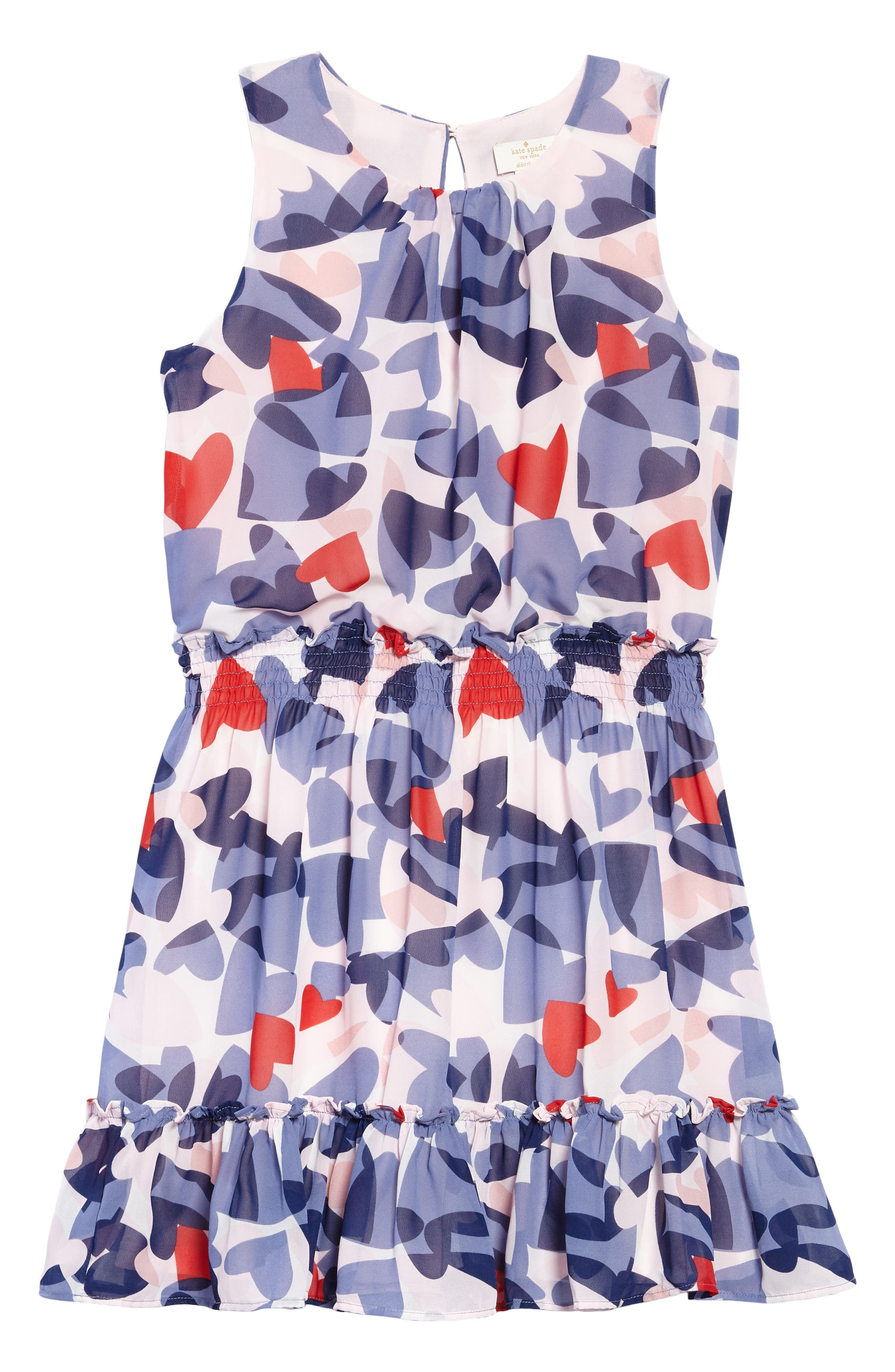 confetti hearts dress,                         Main,                         color, Confetti Hearts