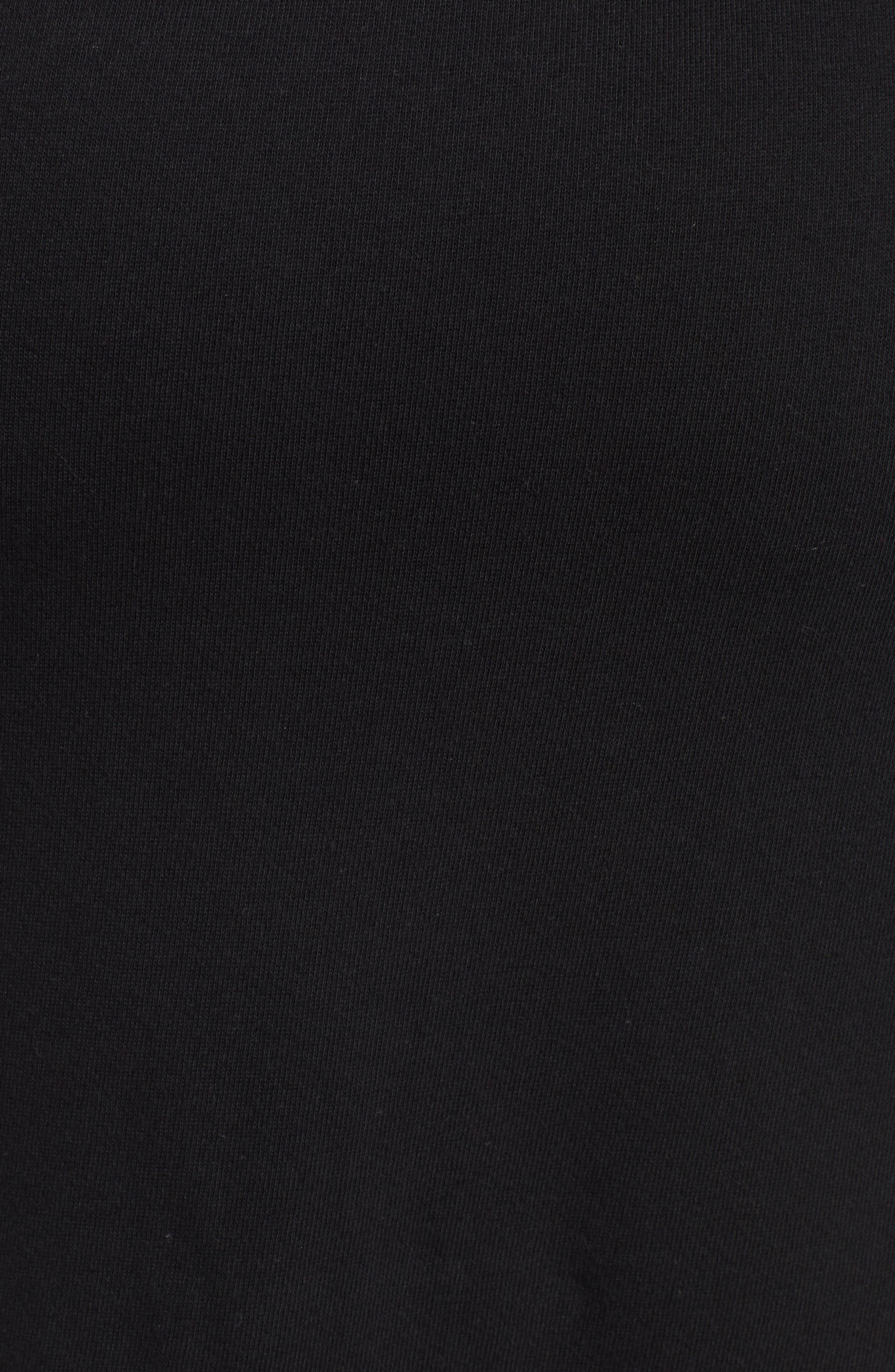 Off-Duty Drawstring Skirt,                             Alternate thumbnail 5, color,                             Black