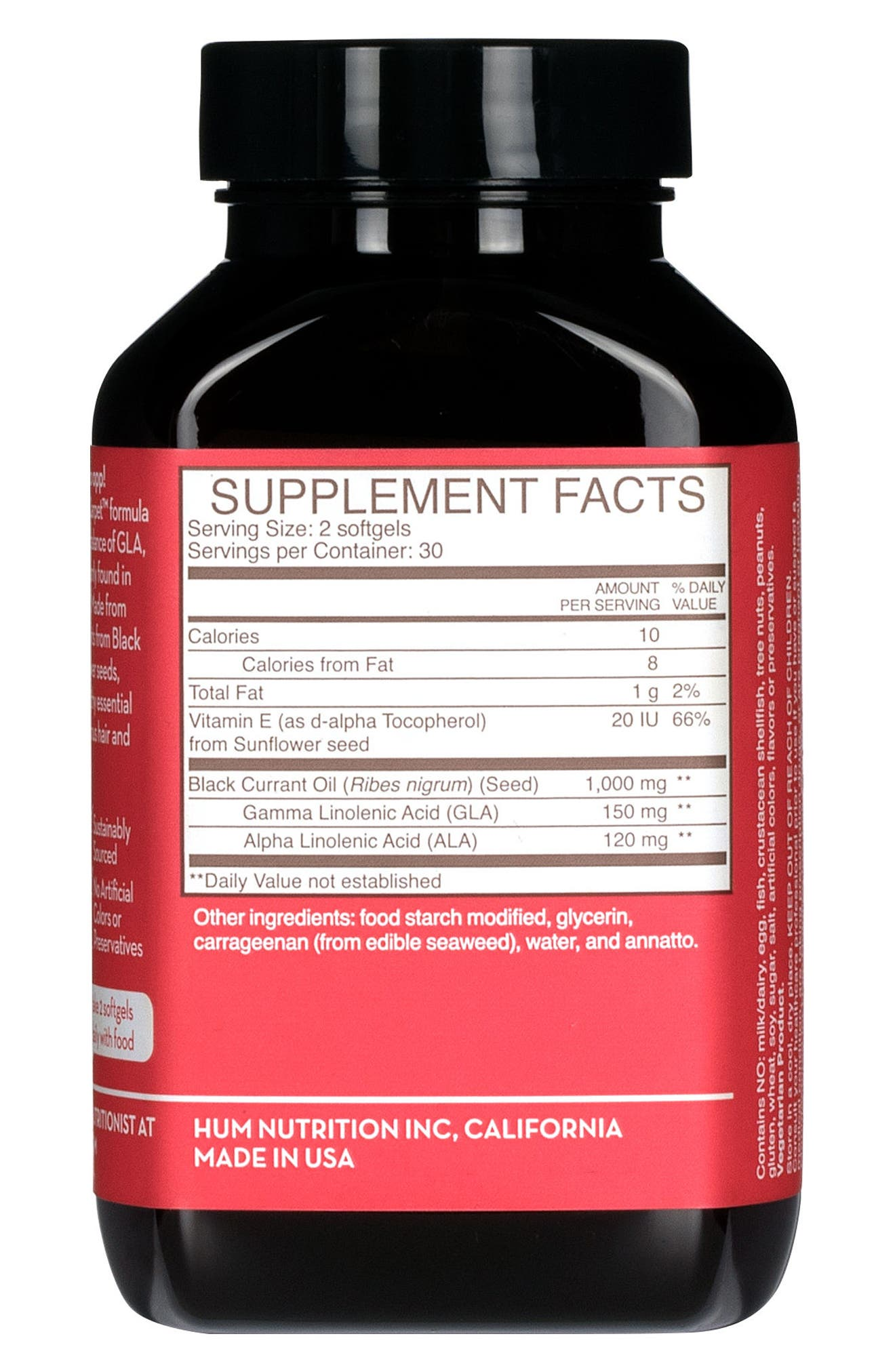 Red Carpet<sup>®</sup> Skin Hydration Supplement,                             Alternate thumbnail 4, color,                             No Color