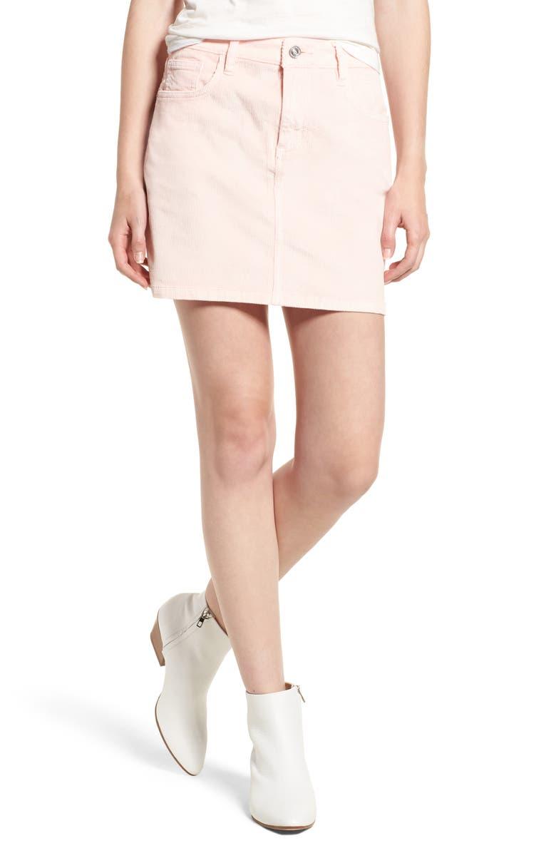 Corduroy Miniskirt