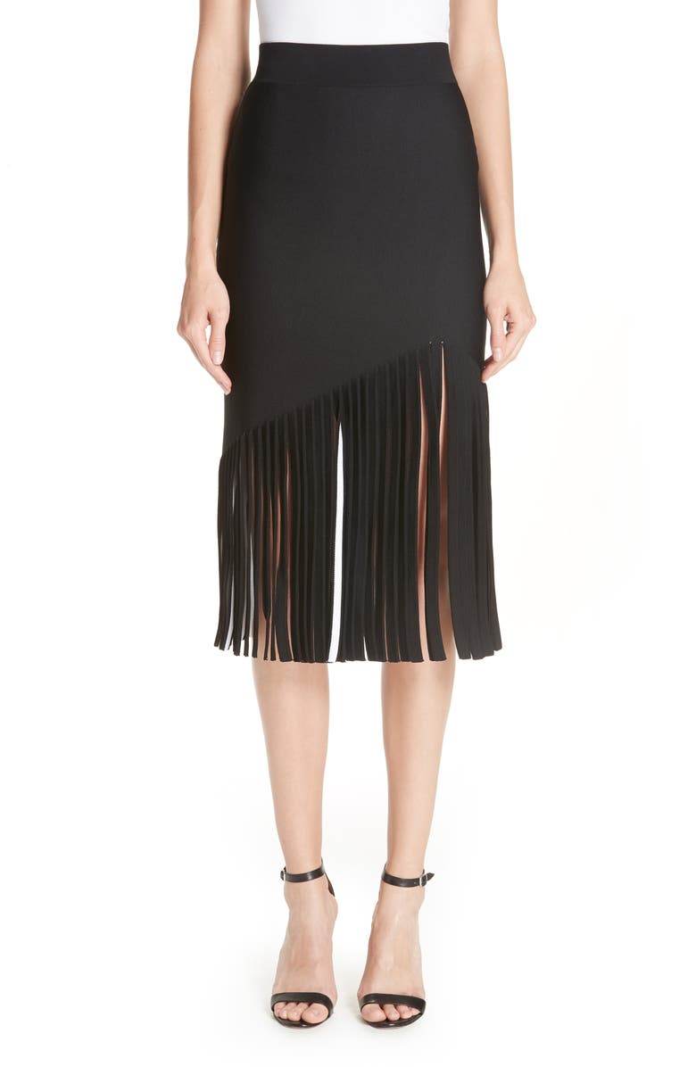 Marvella Fringe Hem Skirt