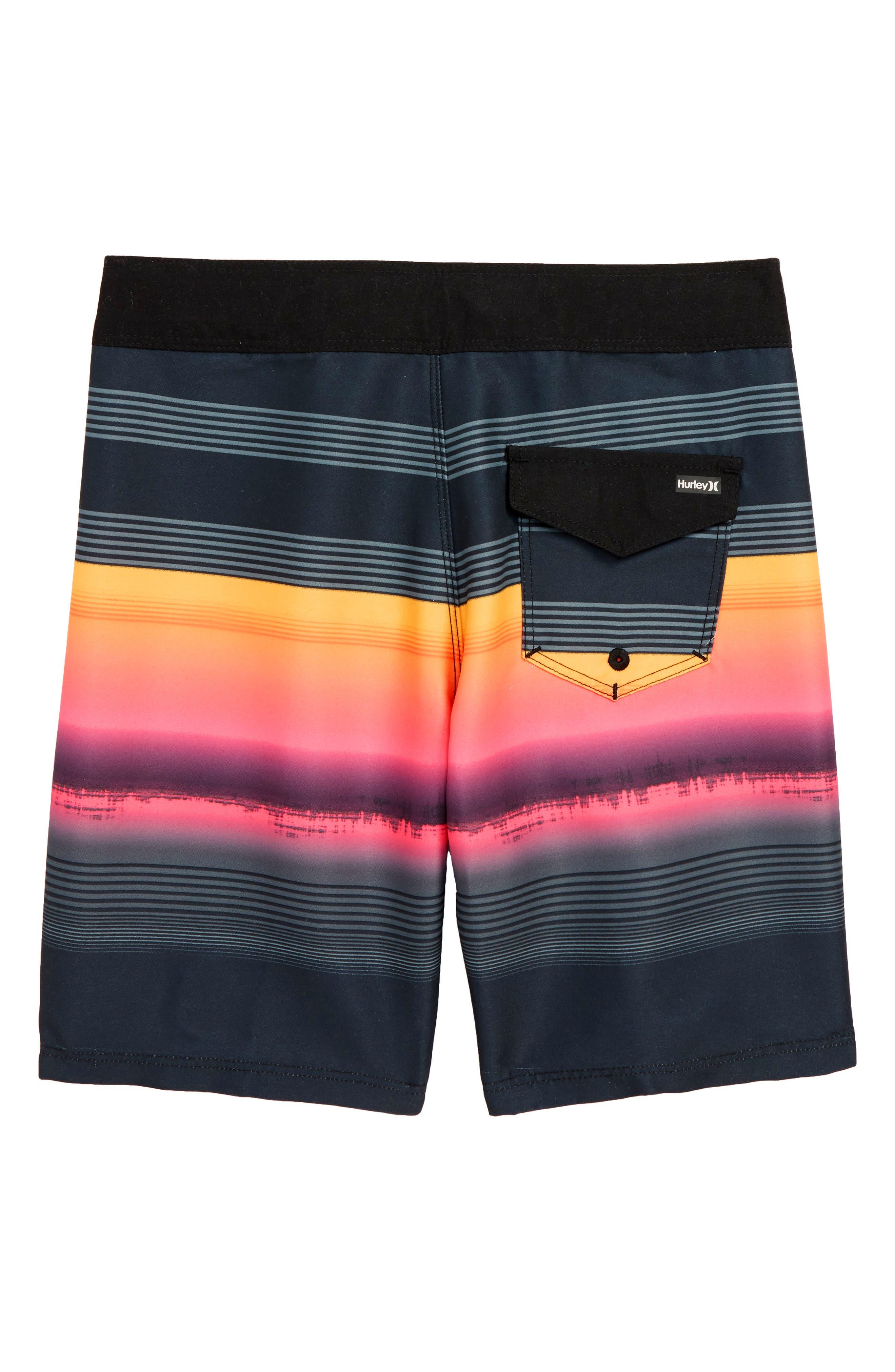 Gavitos Board Shorts,                             Alternate thumbnail 2, color,                             Black
