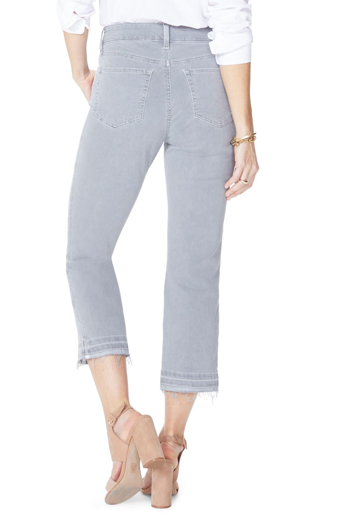 Release Hem Capri Skinny Jeans,                             Alternate thumbnail 2, color,                             Mineral Pigment