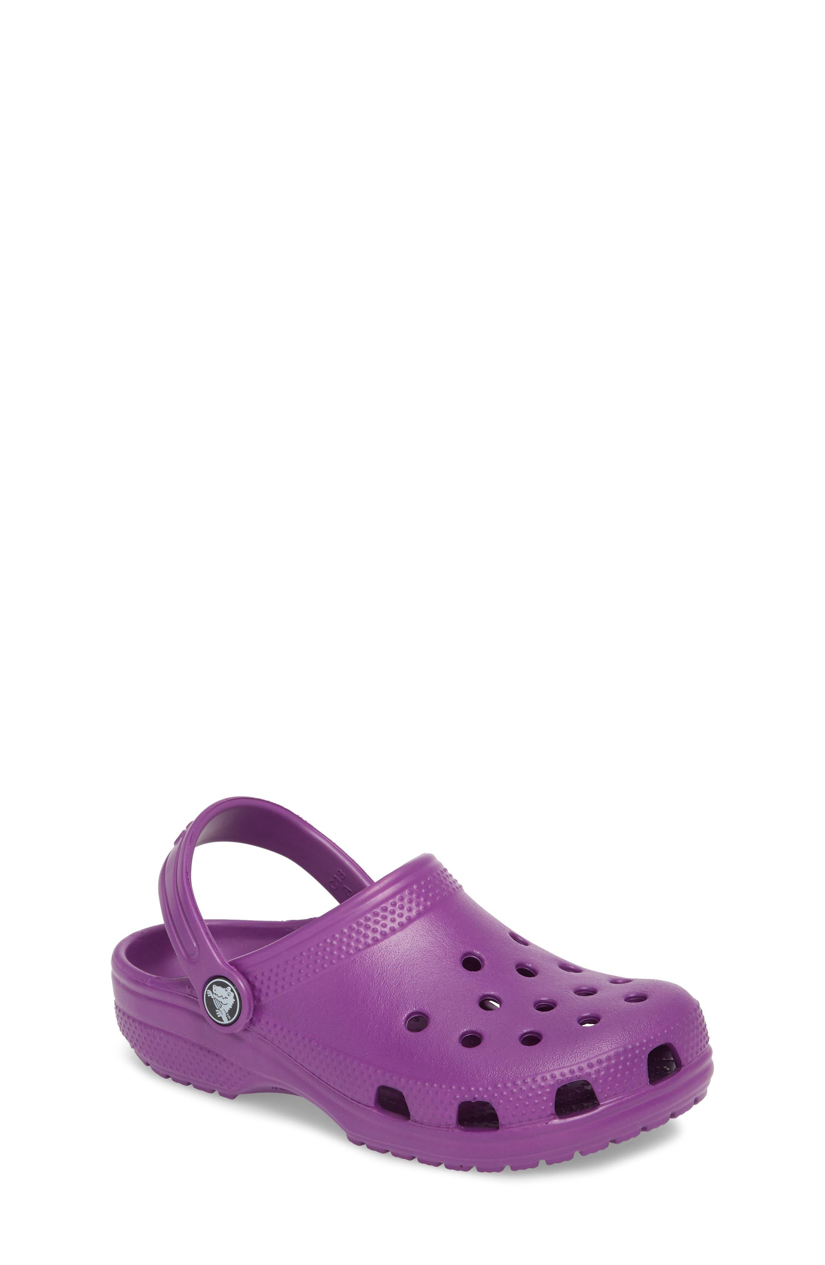 Classic Clog Sandal,                         Main,                         color, Amethyst