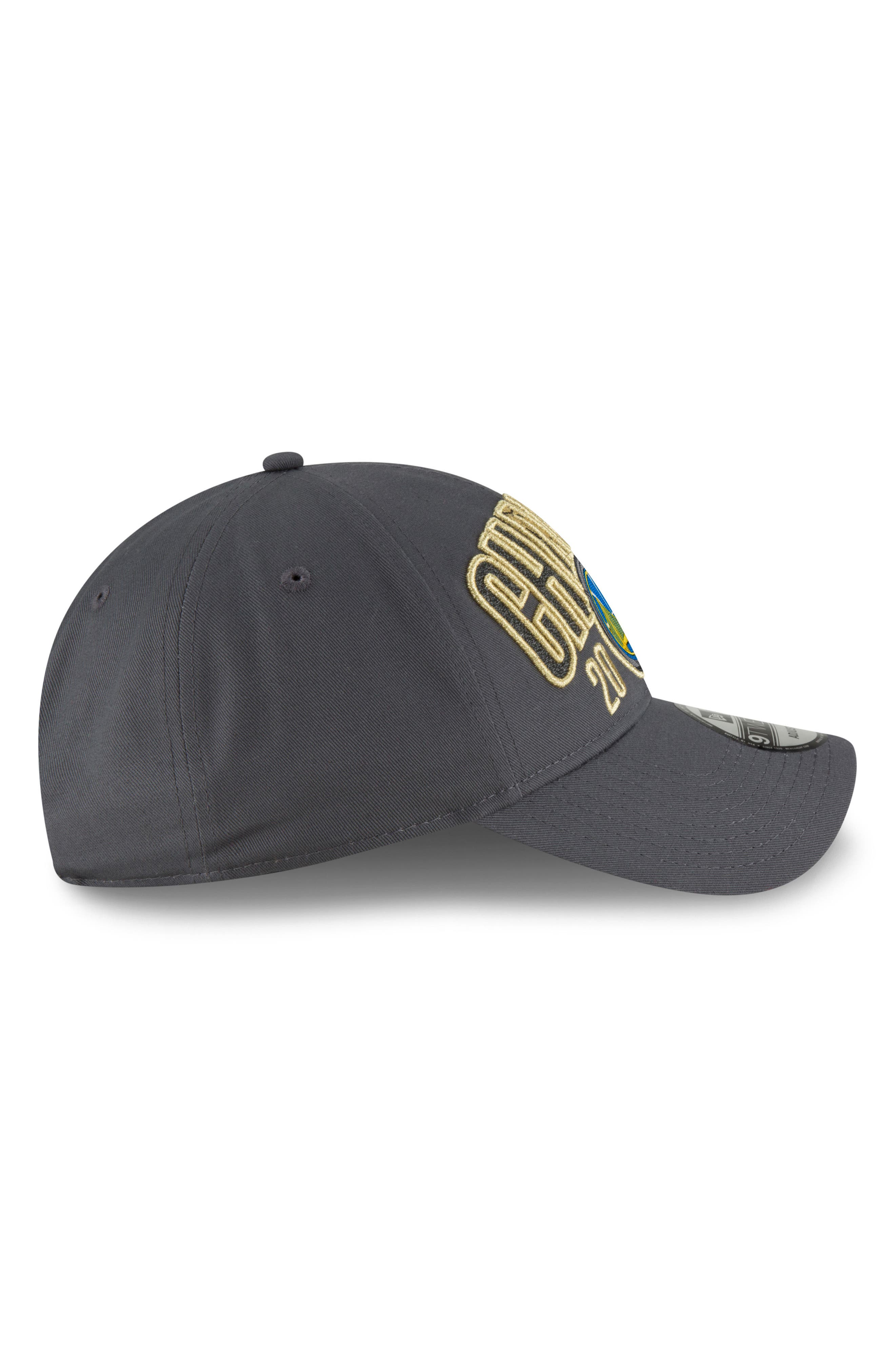 2018 NBA Champions - Golden State Warriors 9Twenty Baseball Cap,                             Alternate thumbnail 3, color,                             Golden State Warriors