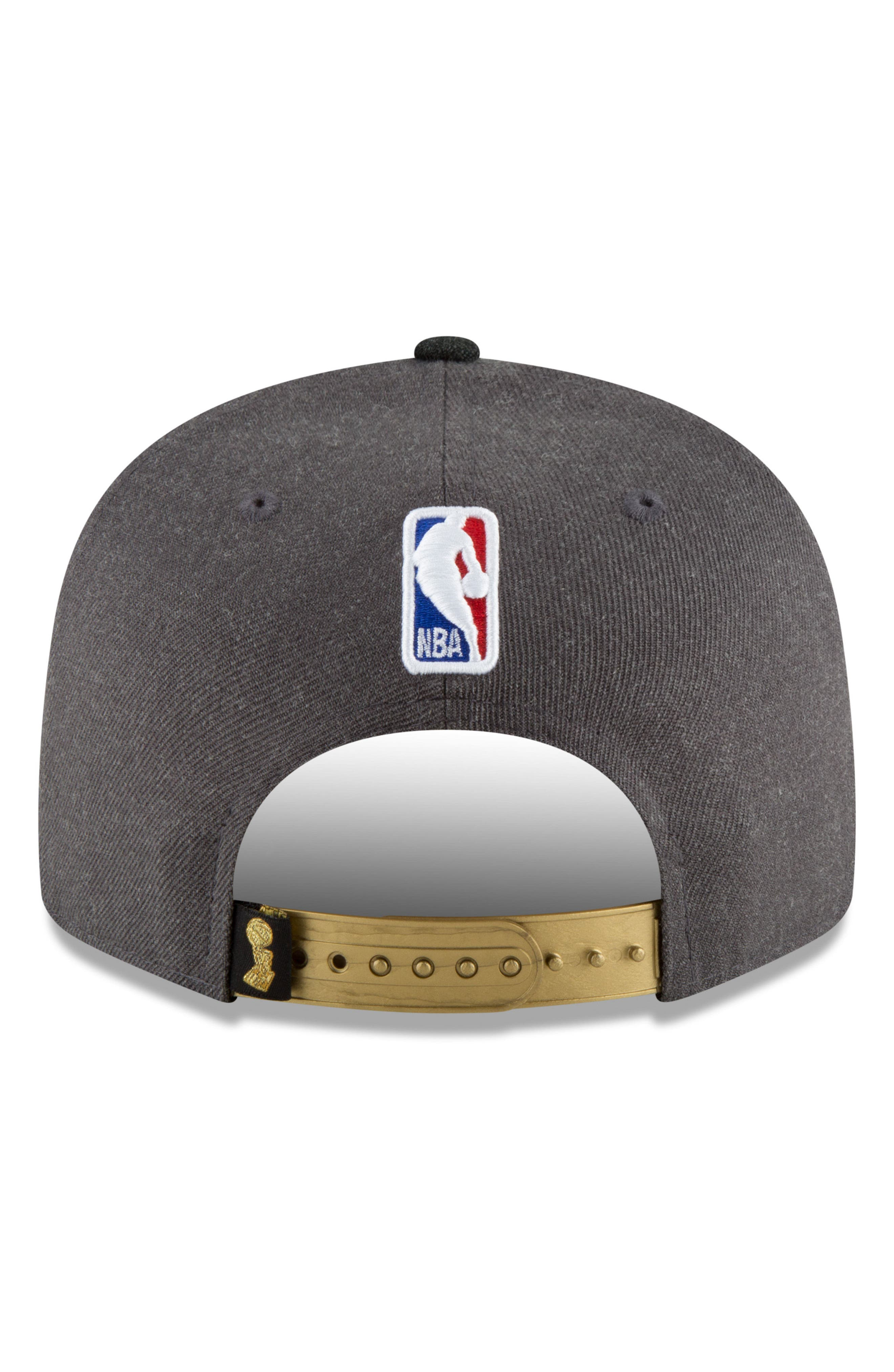 2018 NBA Champions - Golden State Warriors 9Fifty Snapback Cap,                             Alternate thumbnail 3, color,                             Golden State Warriors
