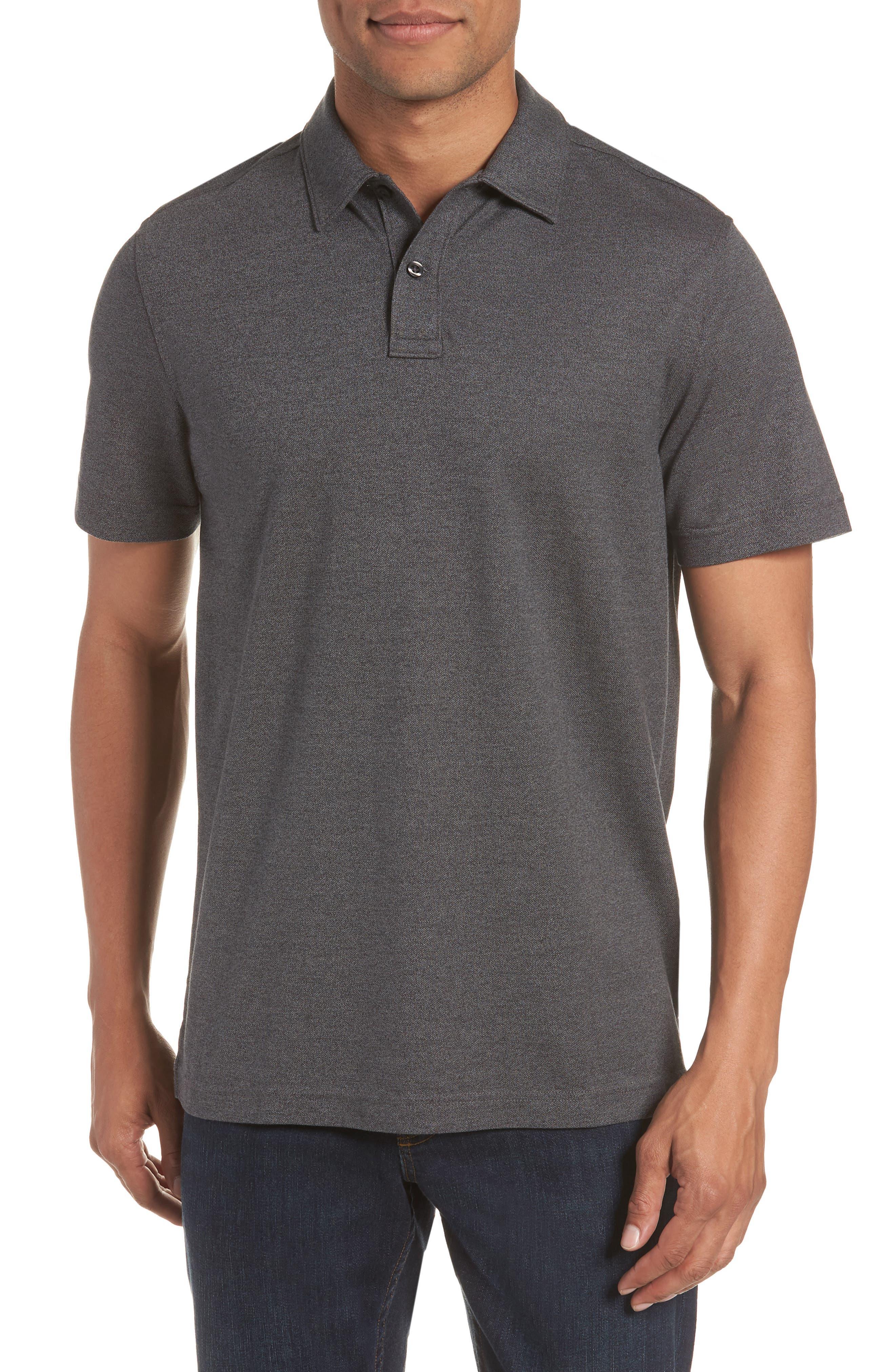 Black Mens Polo Shirt