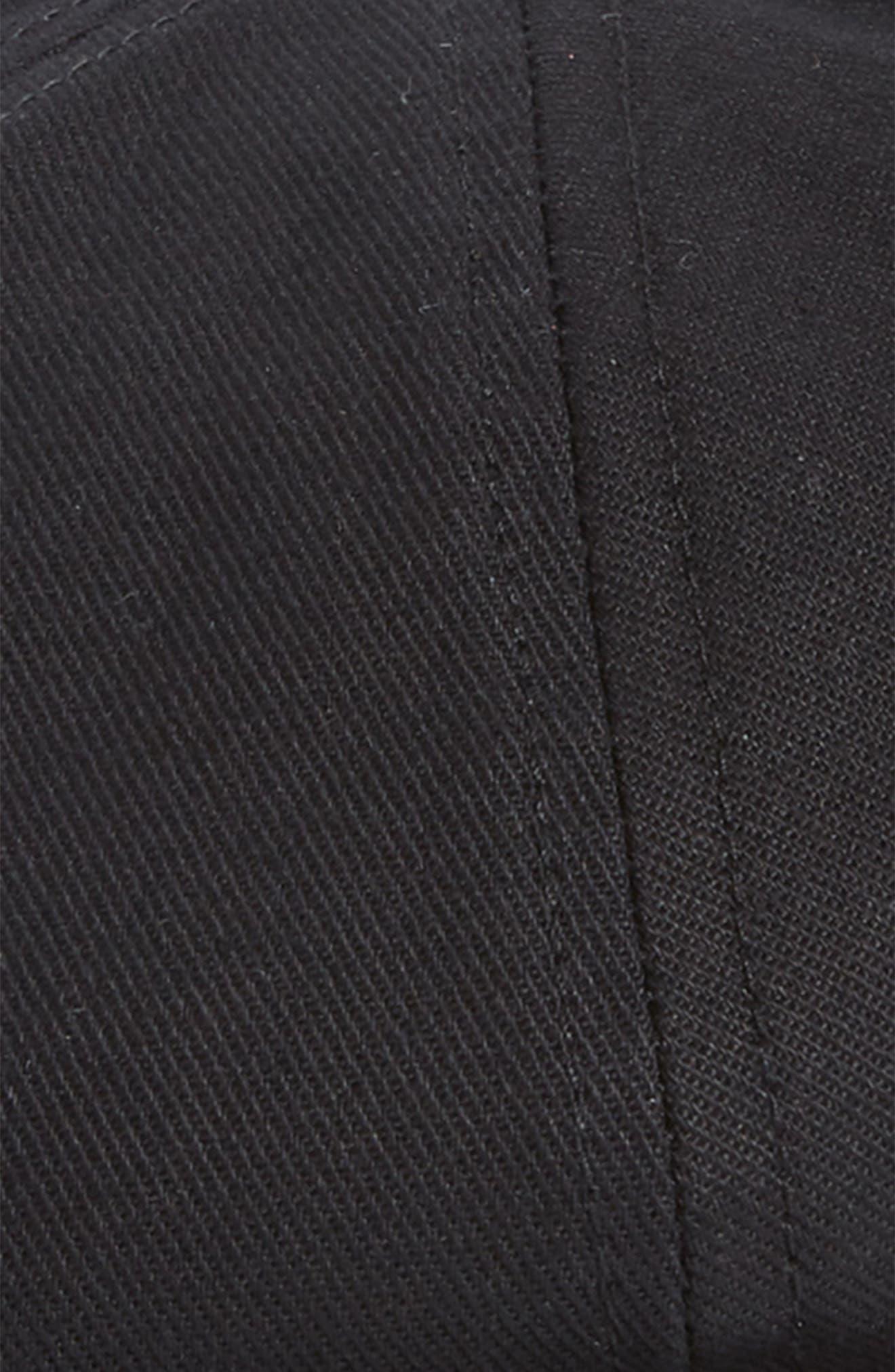 Brood Snap Brim Cap,                             Alternate thumbnail 2, color,                             Black