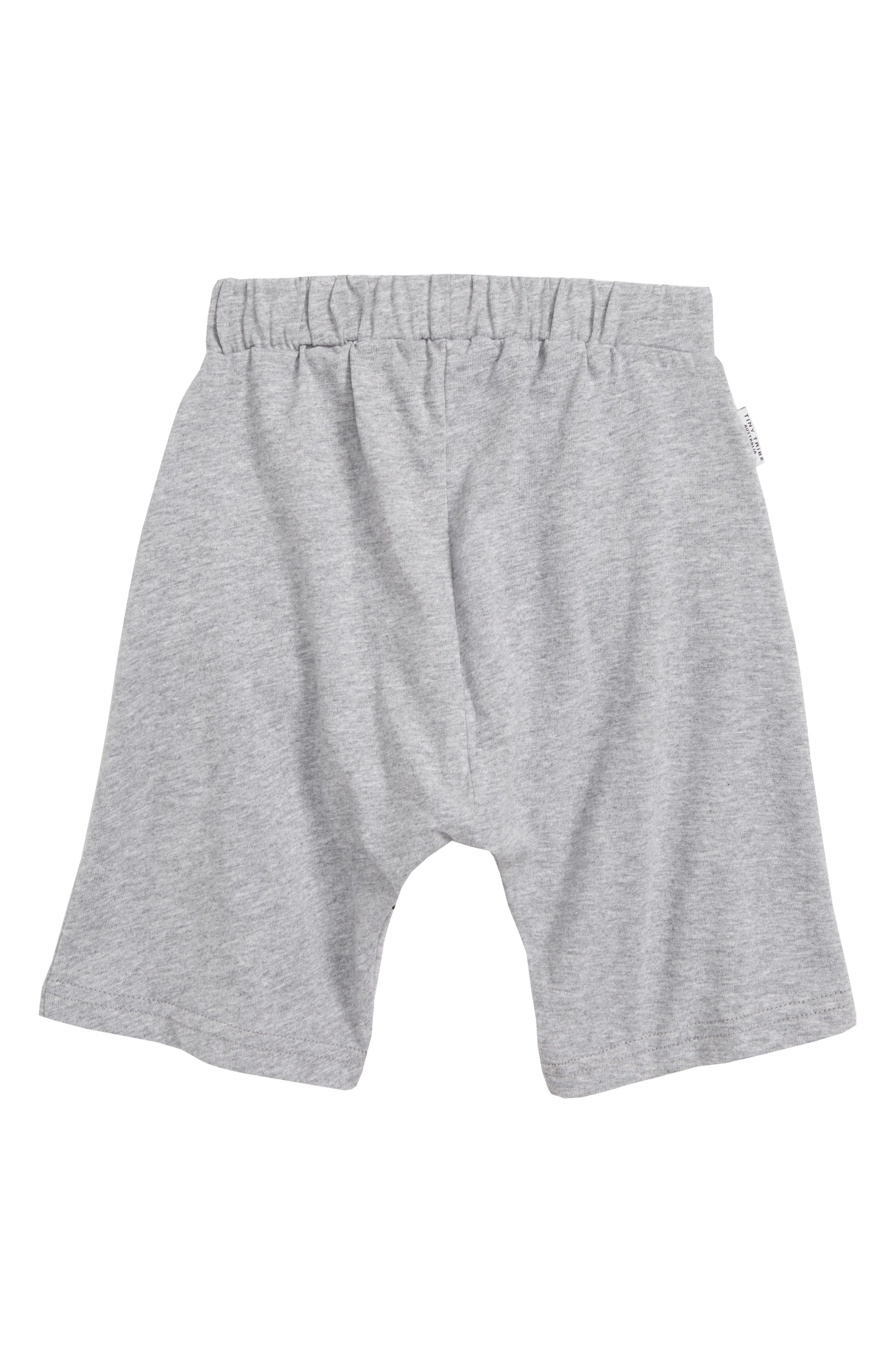 Ice Cream Knit Shorts,                             Alternate thumbnail 2, color,                             Grey