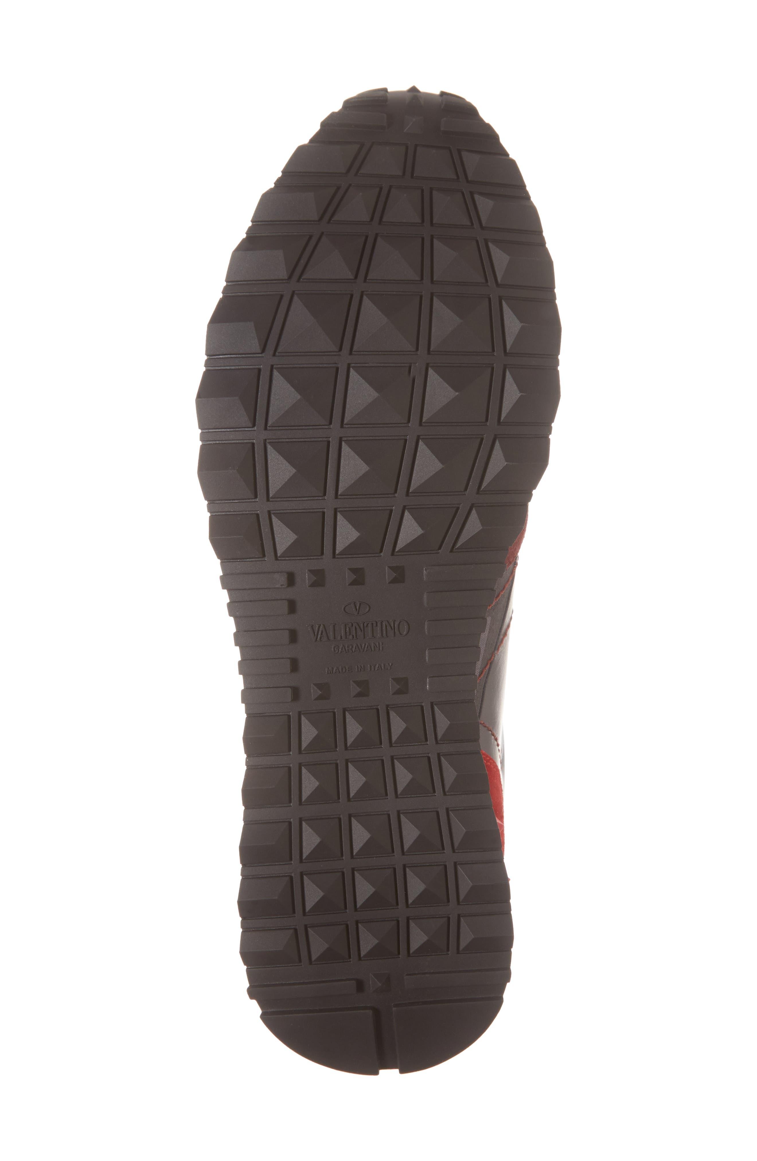 Camo Rockrunner Sneaker,                             Alternate thumbnail 3, color,                             Rubin/ Dark Grey
