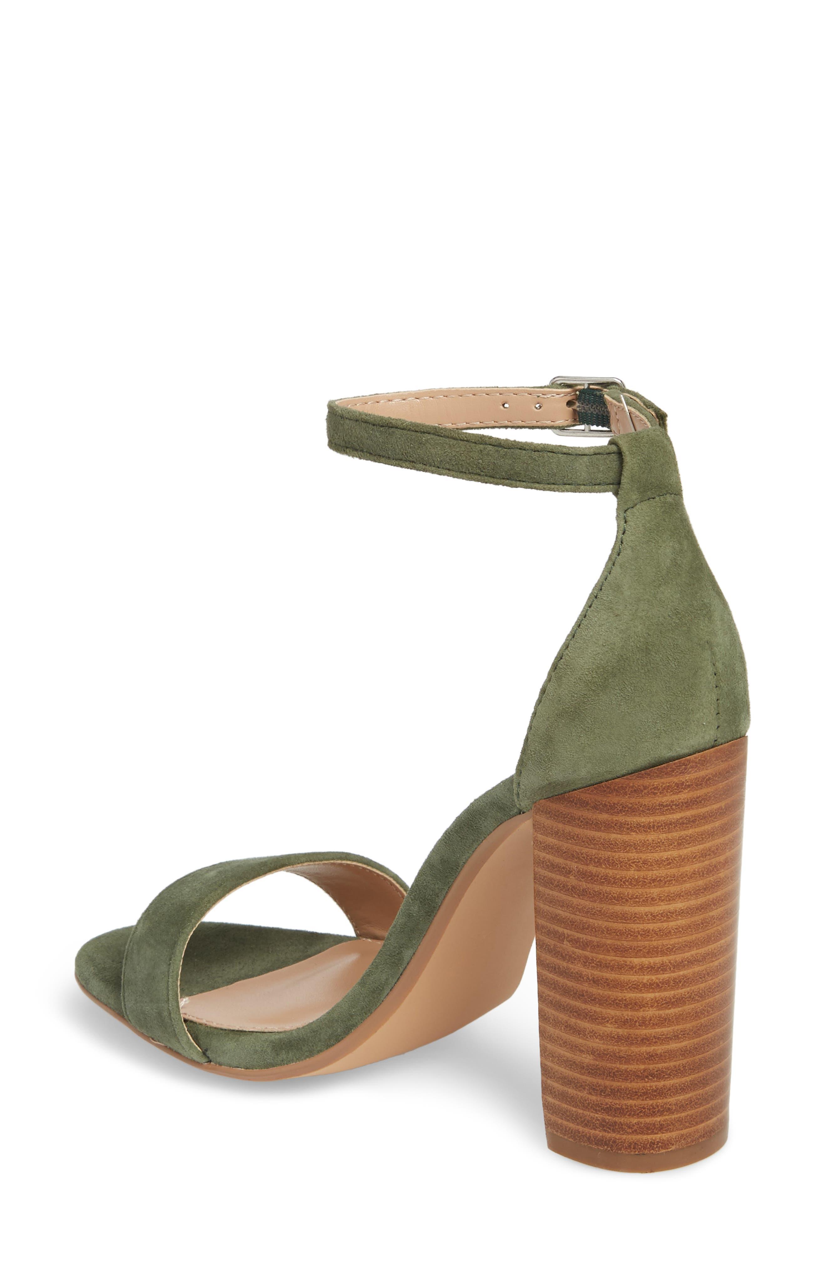 Carrson Sandal,                             Alternate thumbnail 2, color,                             Olive Multi