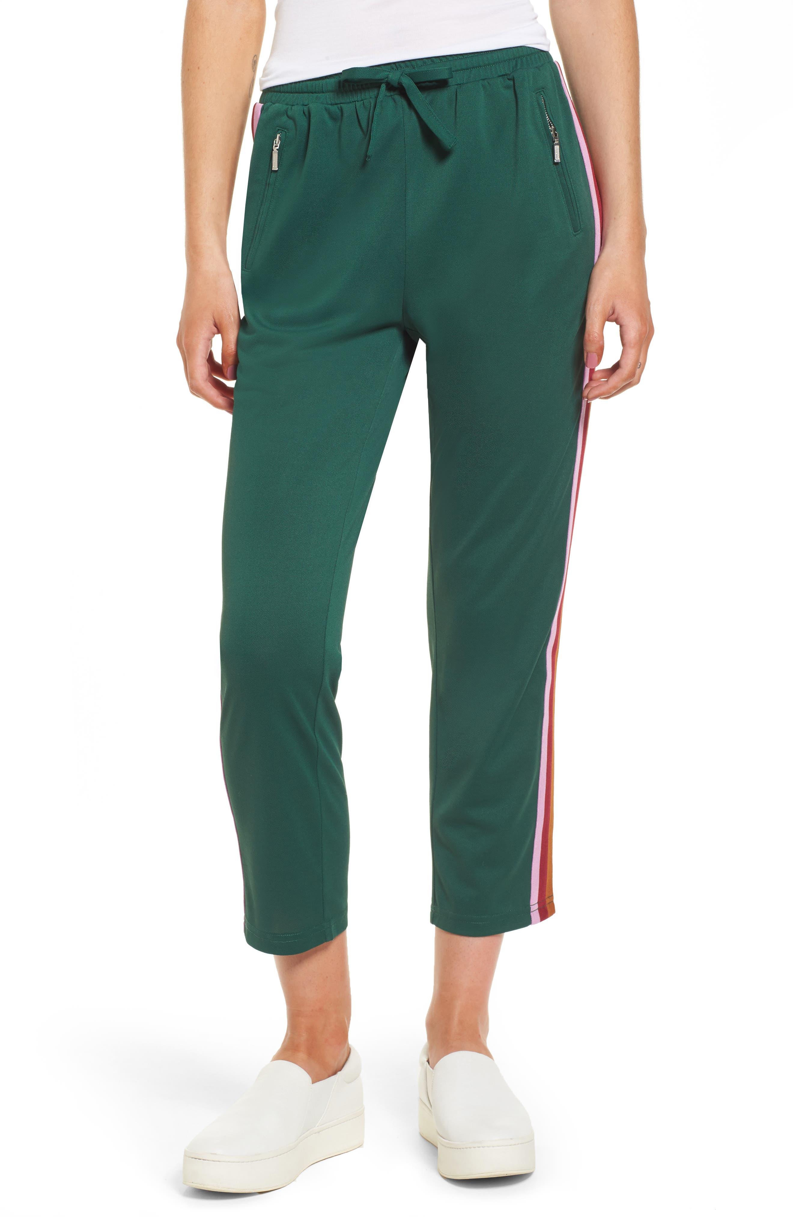 Jolie Crop Pants,                         Main,                         color, Eden/ Pink
