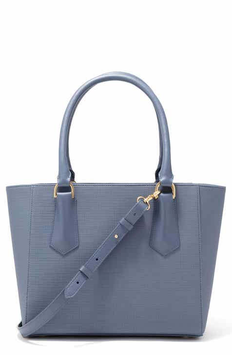 7808cb8955b776 Dagne Dover Signature Midi Coated Canvas Tote