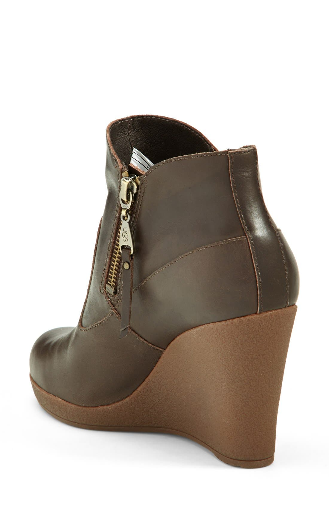 Alternate Image 2  - UGG® Australia 'Meredith' Wedge Bootie (Women)