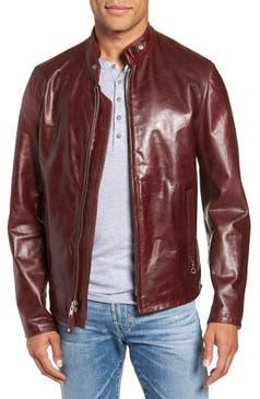 Red Leather Jacket Nordstrom