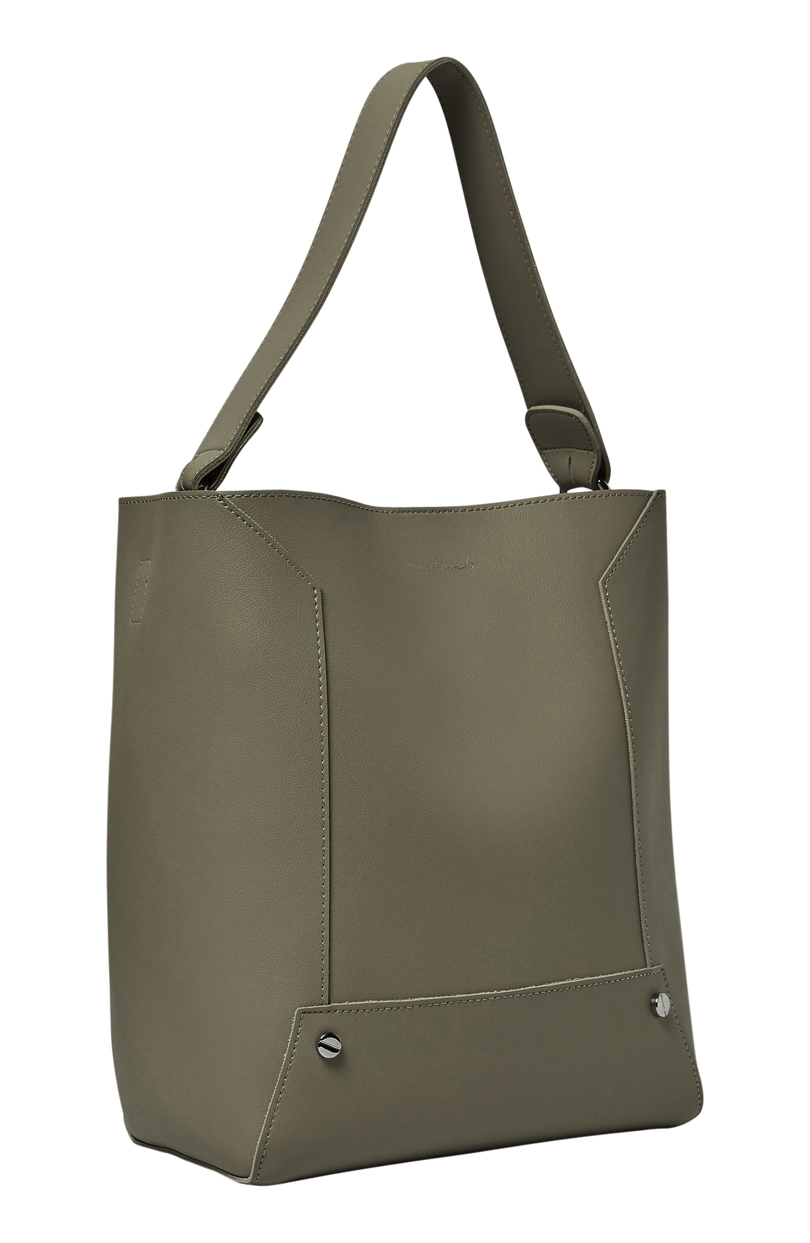 Day Dream Vegan Leather Hobo,                             Alternate thumbnail 2, color,                             Army Green