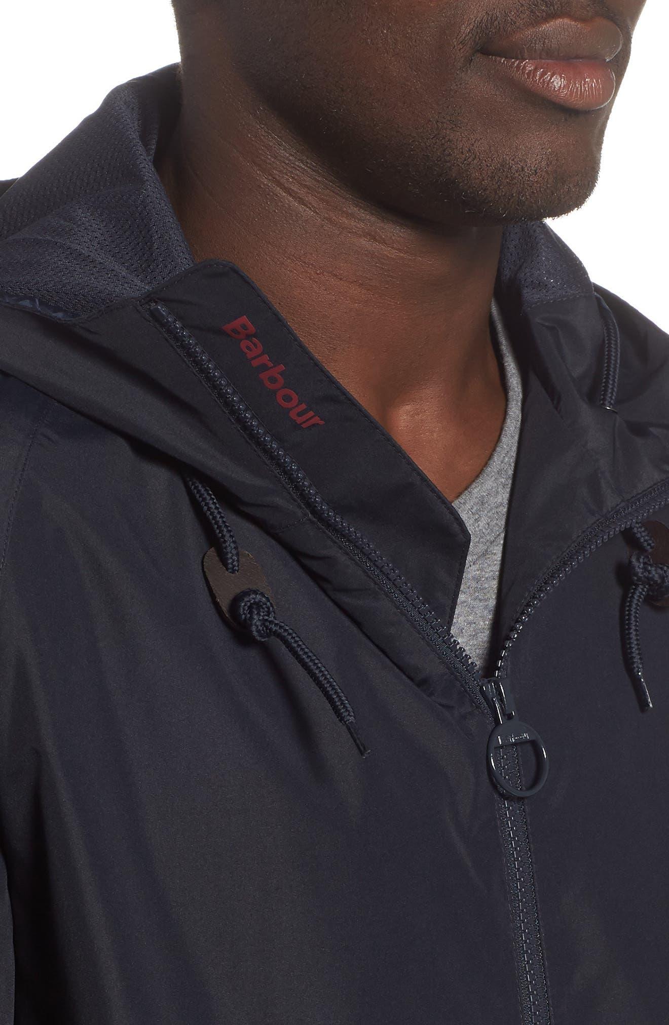 Twent Waterproof Jacket,                             Alternate thumbnail 4, color,                             Navy