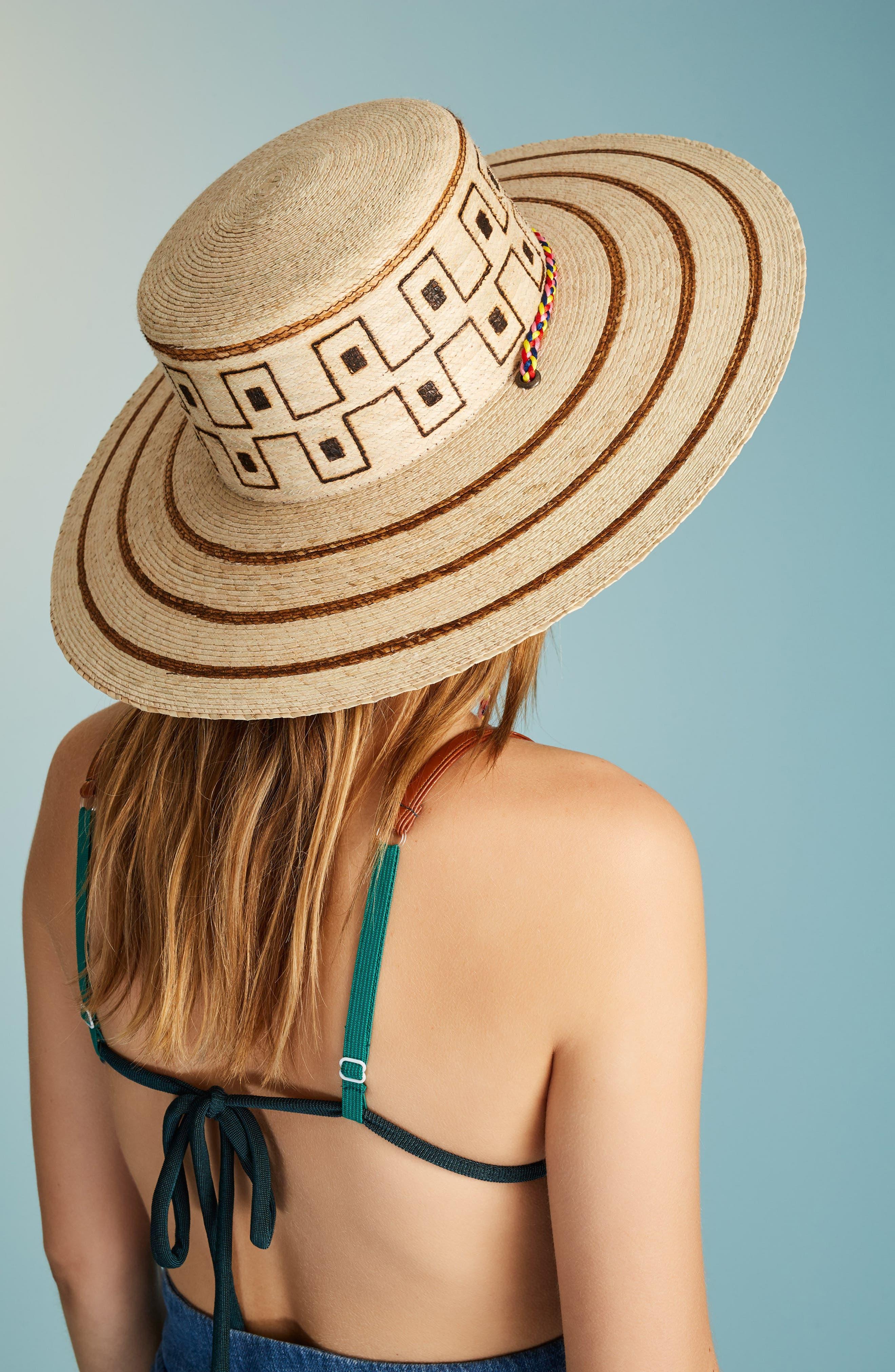 Guadalajara Hat,                             Alternate thumbnail 6, color,                             Natural