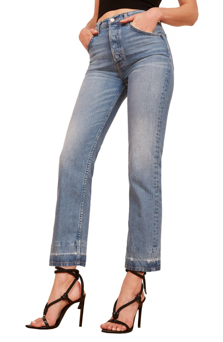 Cynthia High Waist Relaxed Jeans