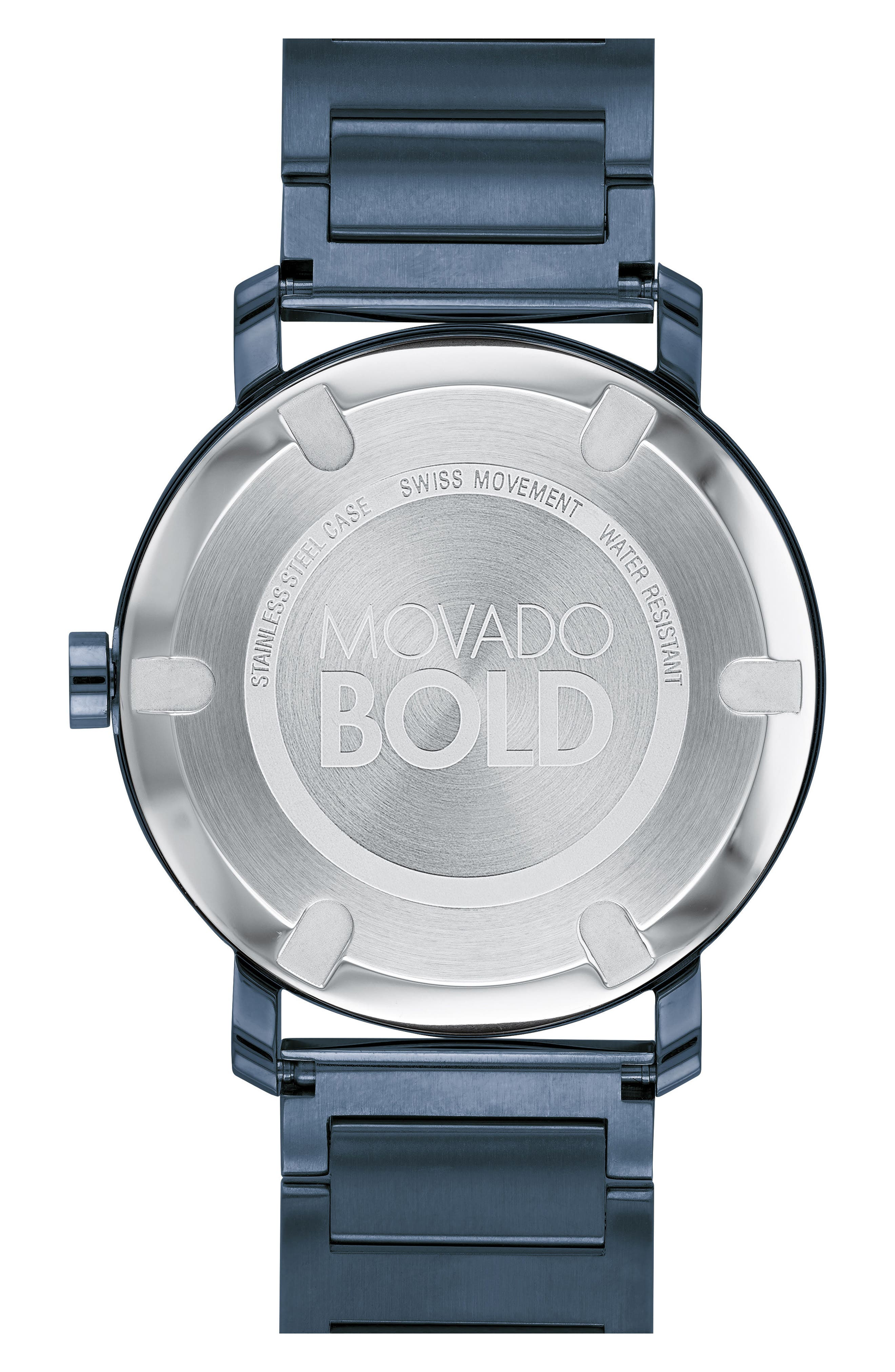 Bold Bracelet Watch, 40mm,                             Alternate thumbnail 2, color,                             Blue
