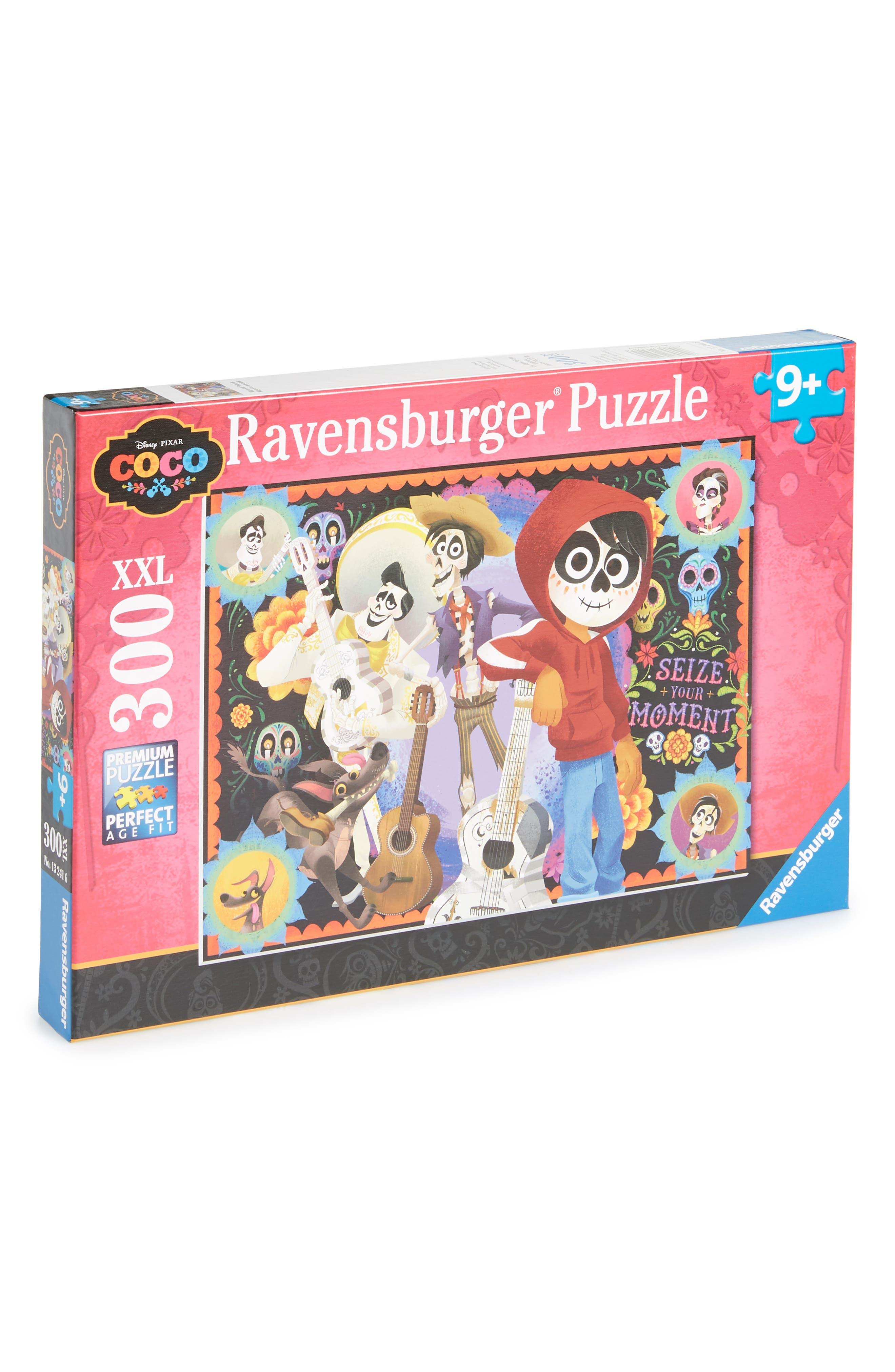Disney Miguel and Friends 300-Piece Puzzle,                             Main thumbnail 1, color,                             Orange