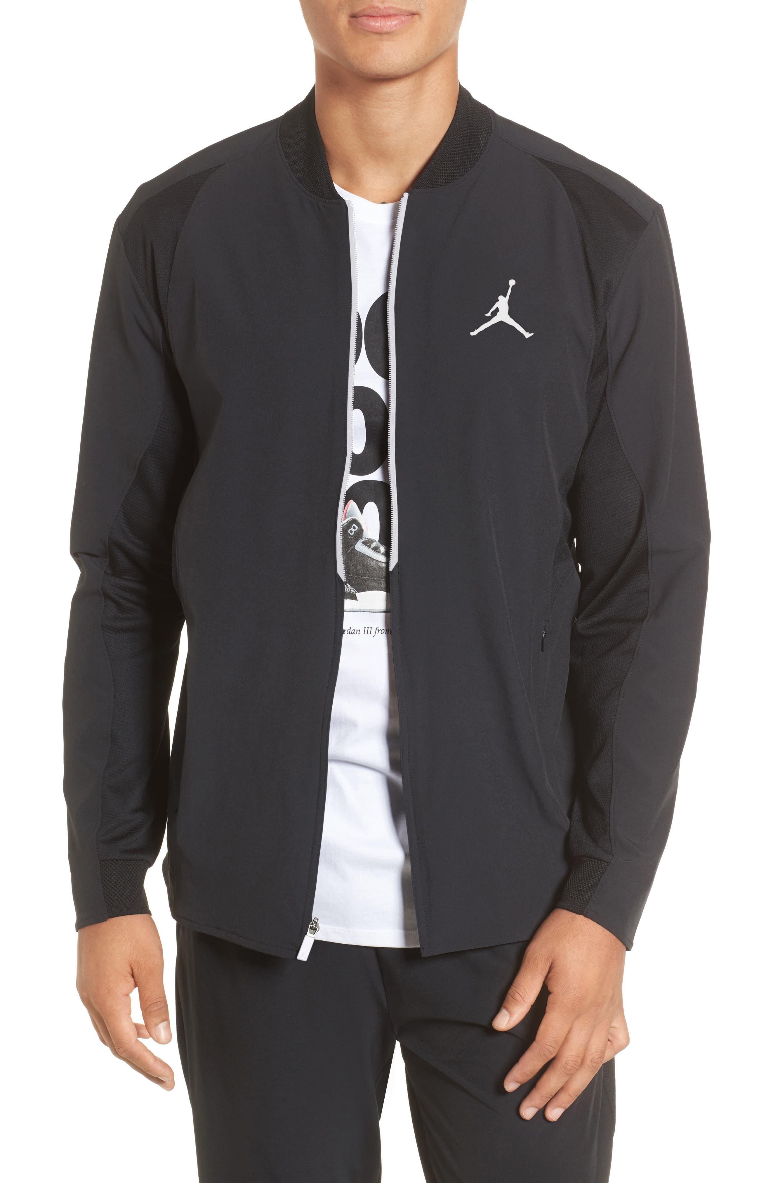 23 Alpha Dry Jacket,                             Main thumbnail 1, color,                             Black/ White
