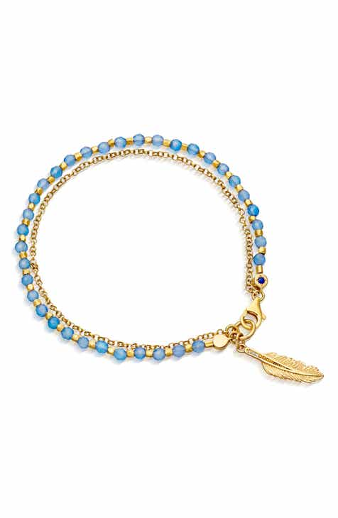 b8c0e8268346 Astley Clarke Feather Biography Bracelet